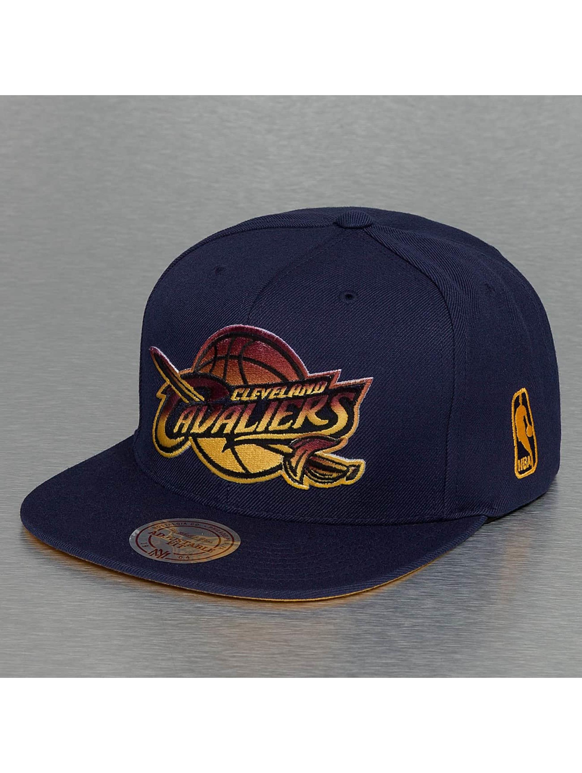 Mitchell & Ness Snapback Caps Gradient NBA Cleveland Cavaliers blå