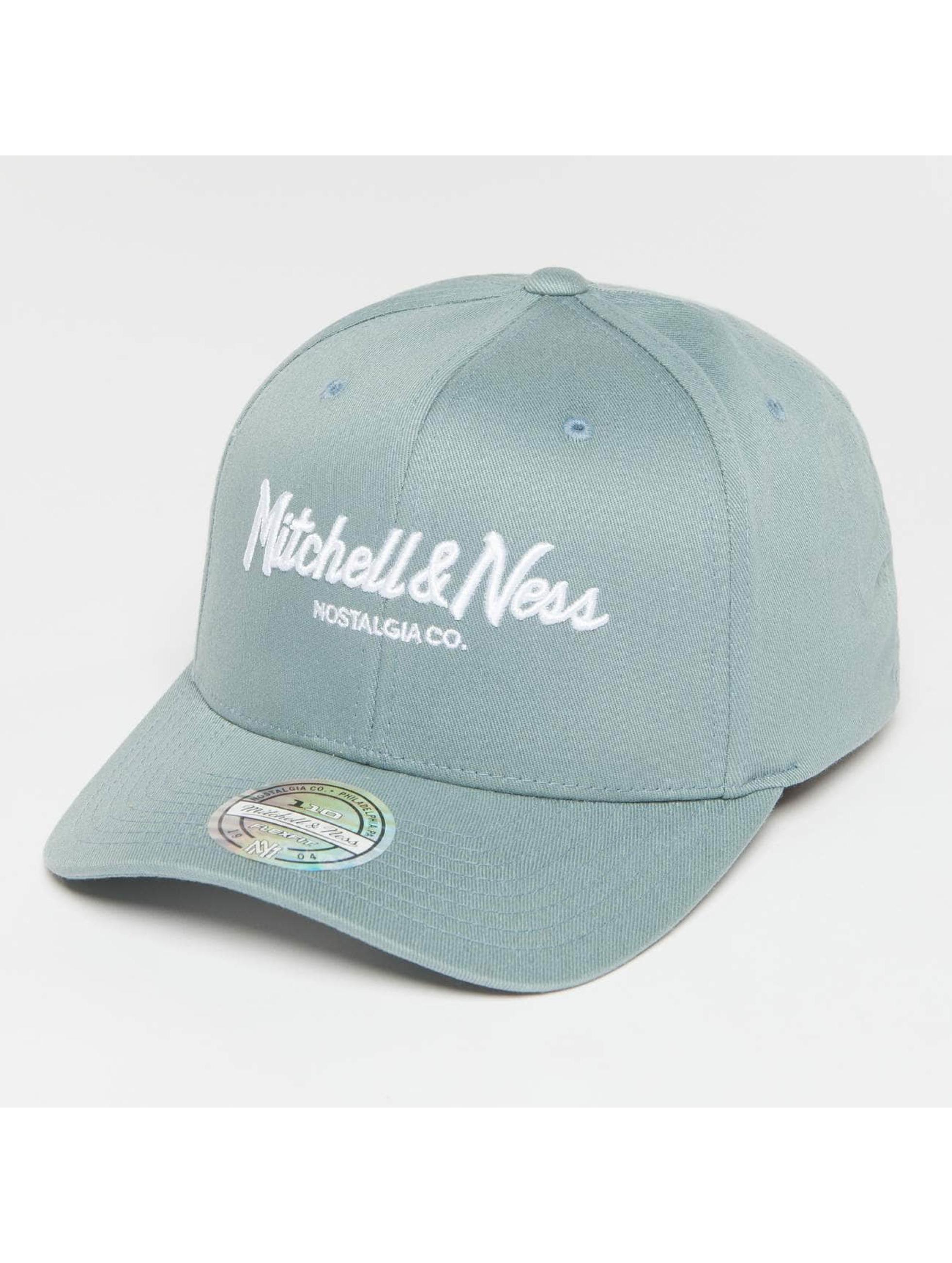 Mitchell & Ness Snapback Caps Own Brand Pinscript High Crown 110 blå