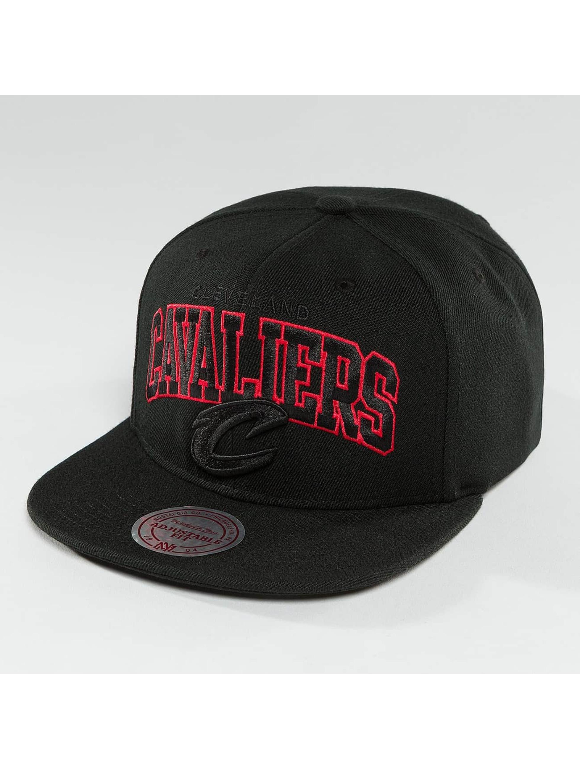 Mitchell & Ness Snapback Caps Red Pop Cleveland Cavaliers czarny