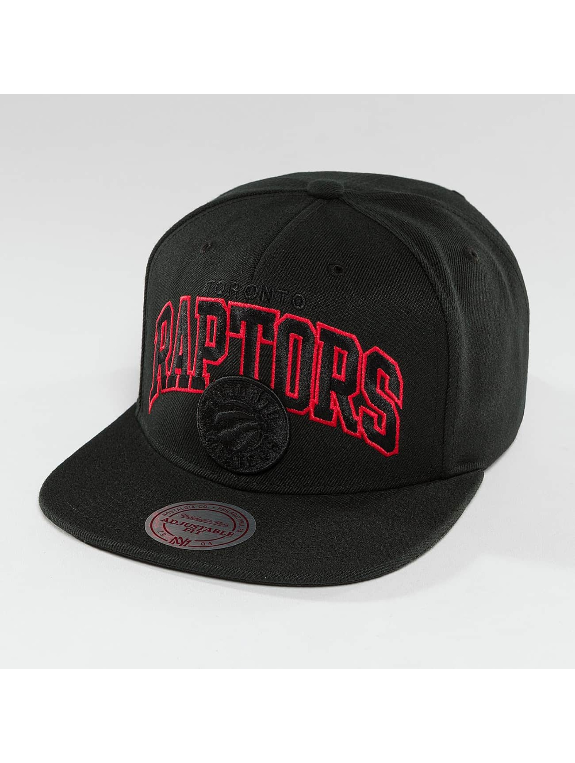 Mitchell & Ness Snapback Caps Red Pop Toronto Raptors czarny