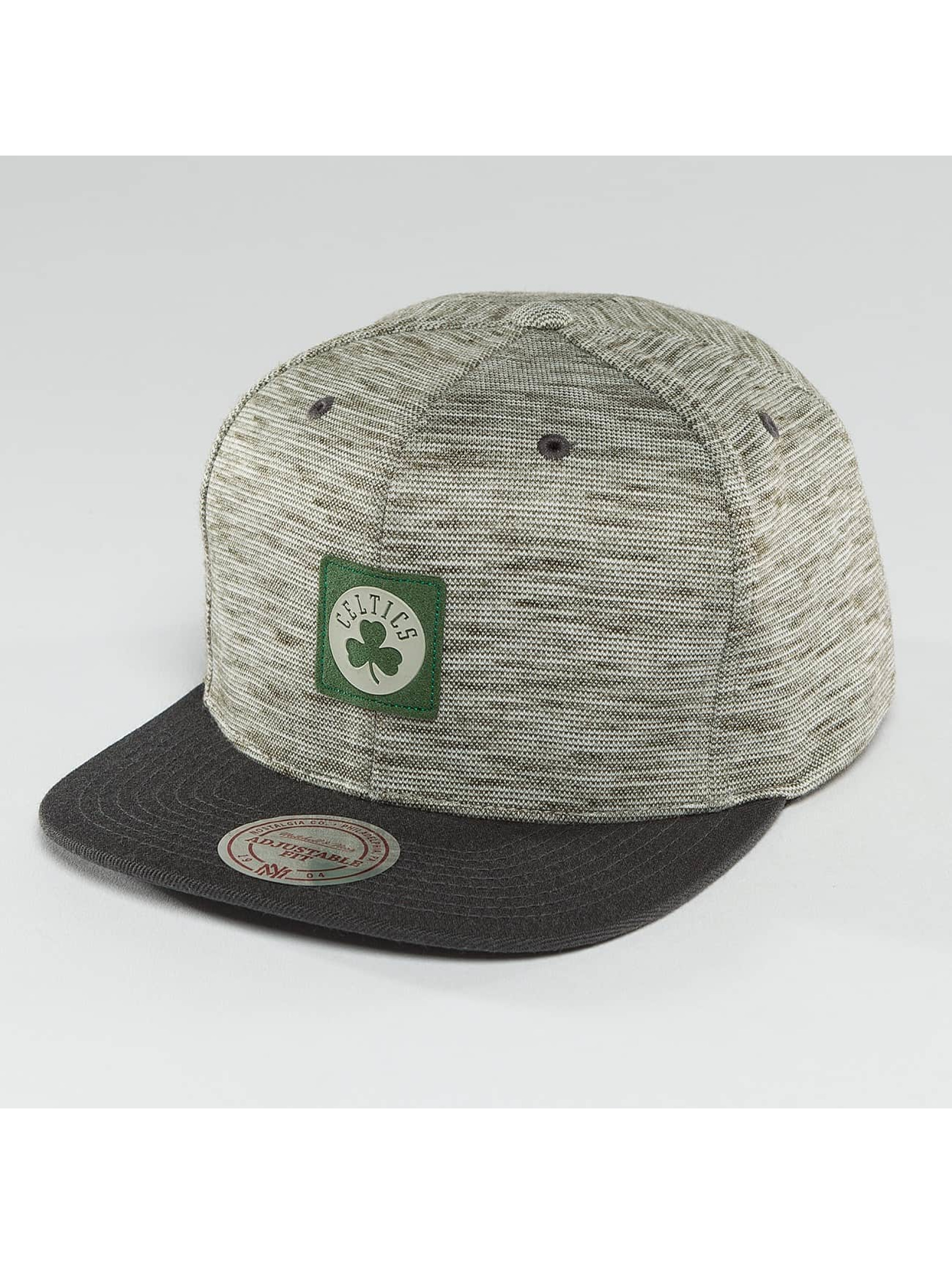 Mitchell & Ness Snapback Caps NBA Brushed Melange Boston Celtics grå