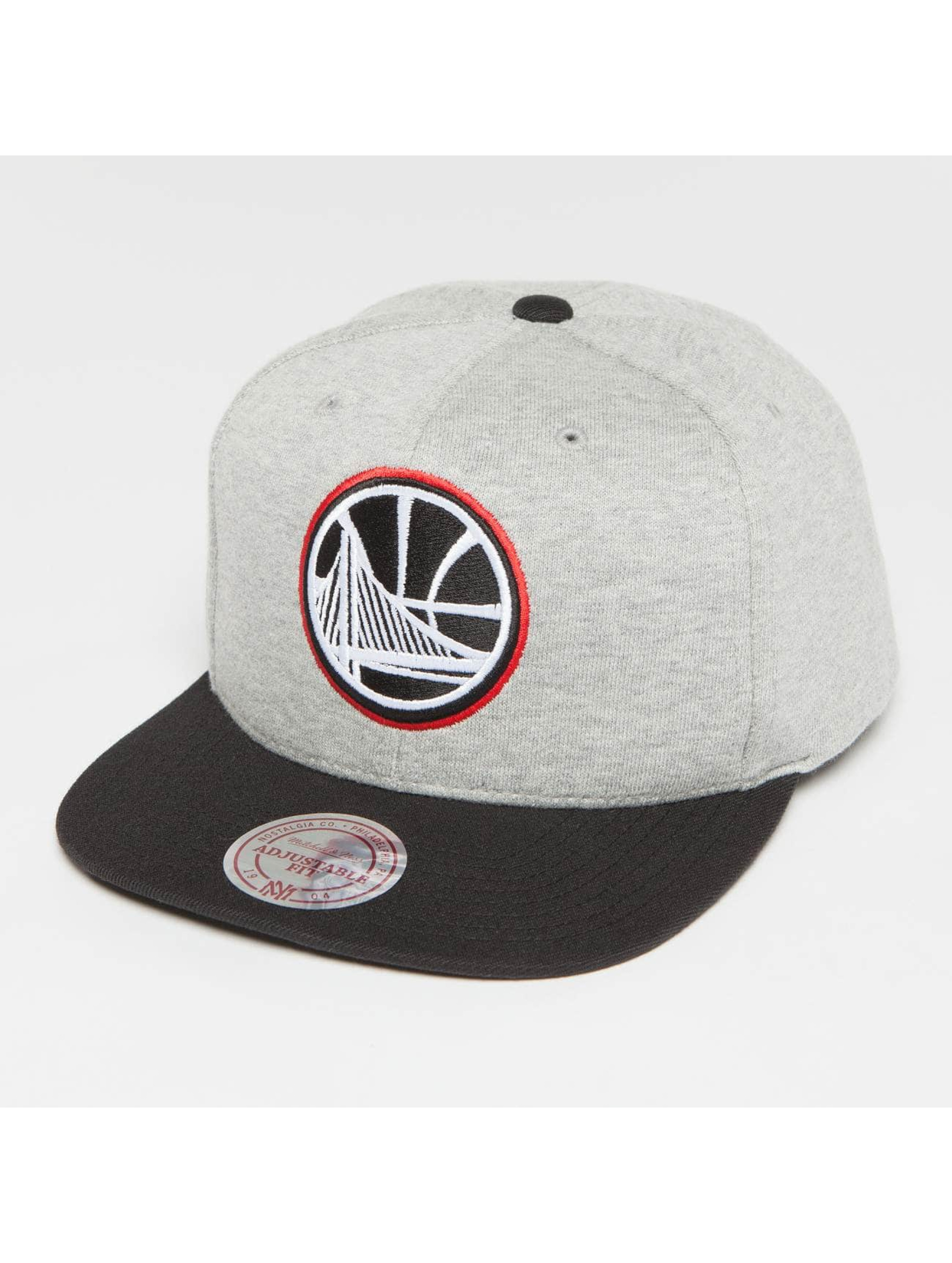 Mitchell & Ness Snapback Caps The 3-Tone NBA Golden State Warriors harmaa