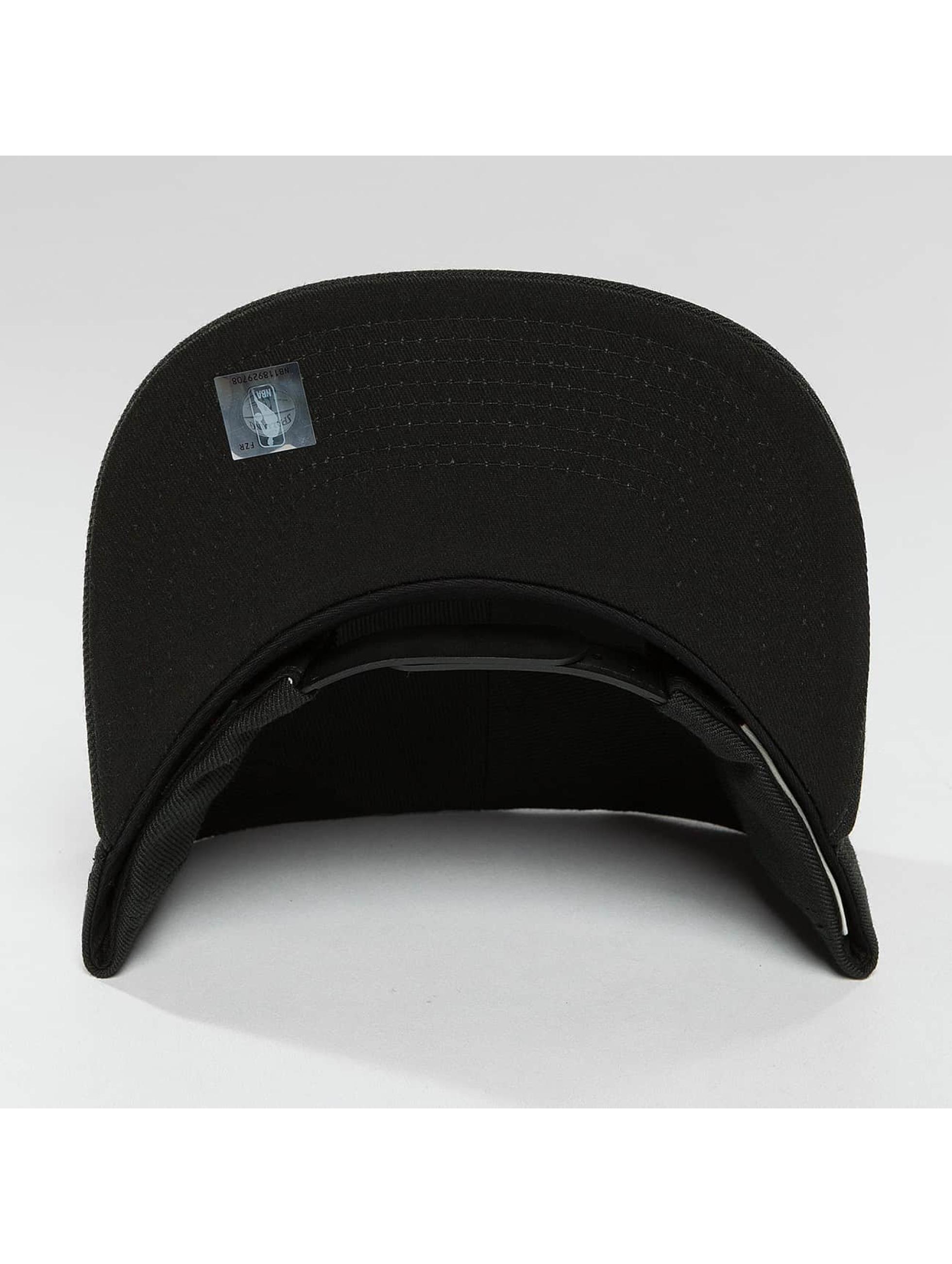 Mitchell & Ness Snapback Caps Red Pop Pinscript musta