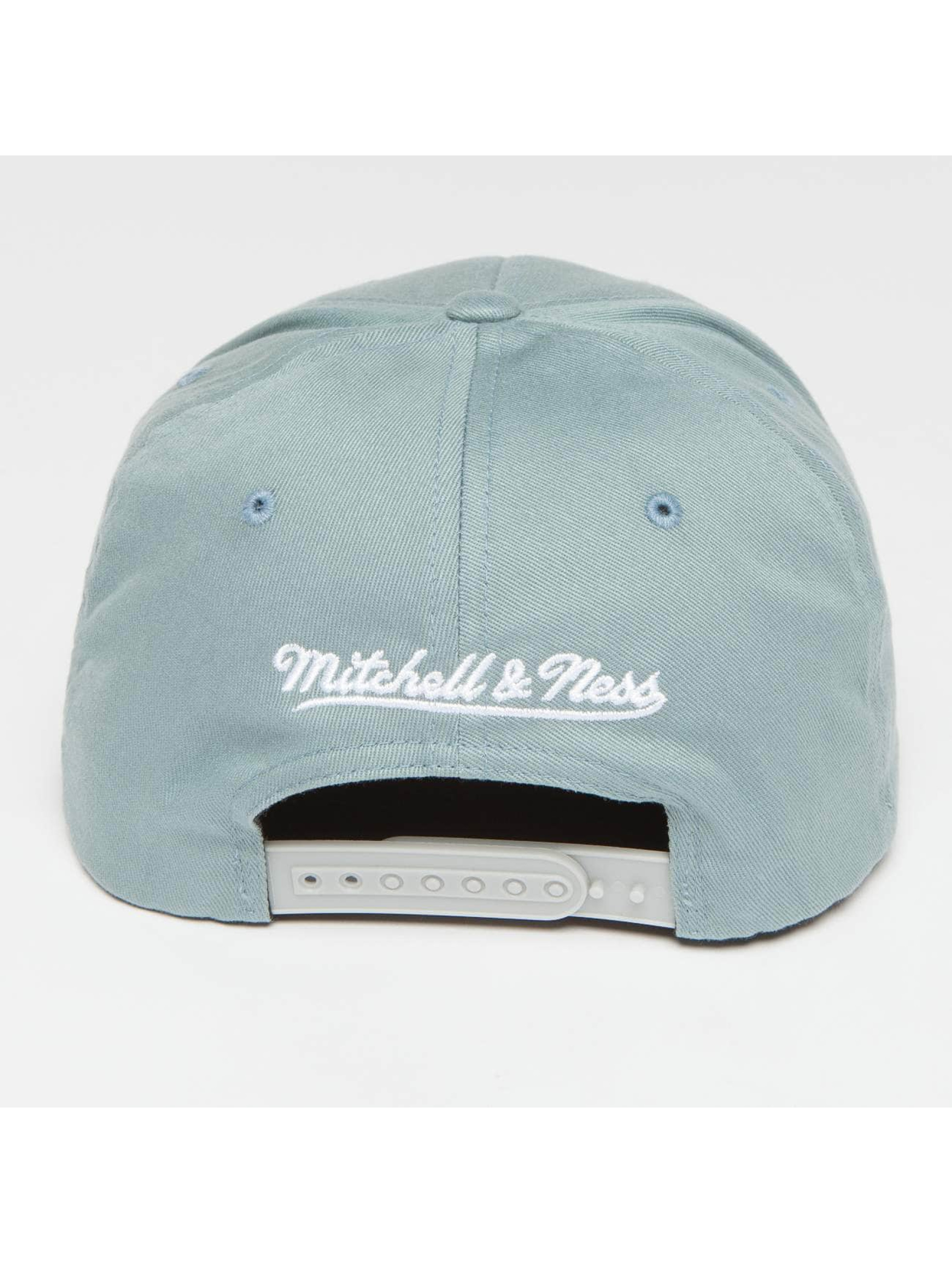 Mitchell & Ness Snapback Caps Own Brand Pinscript High Crown 110 niebieski
