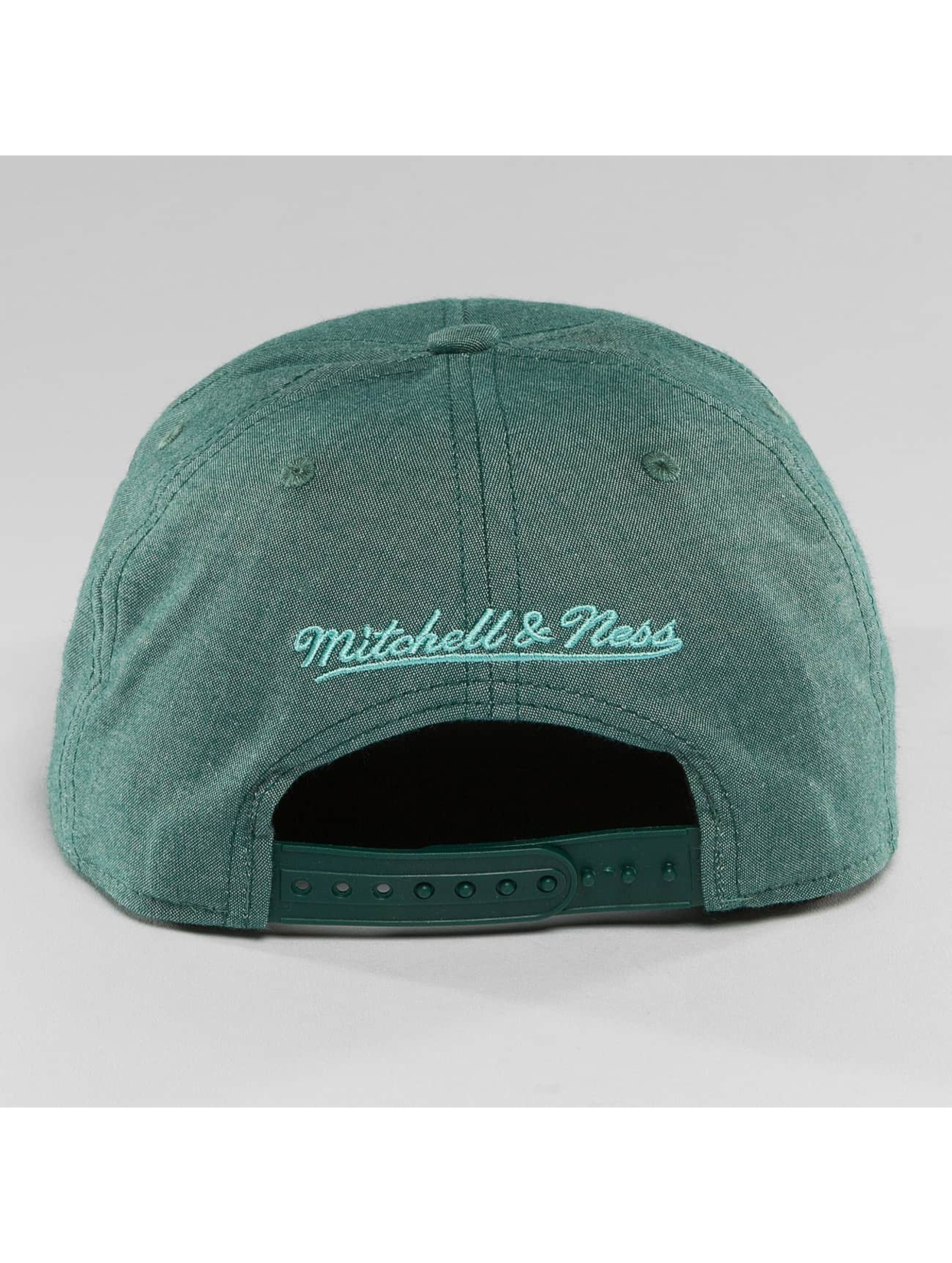Mitchell & Ness Snapback Caps Italian Washed olivový