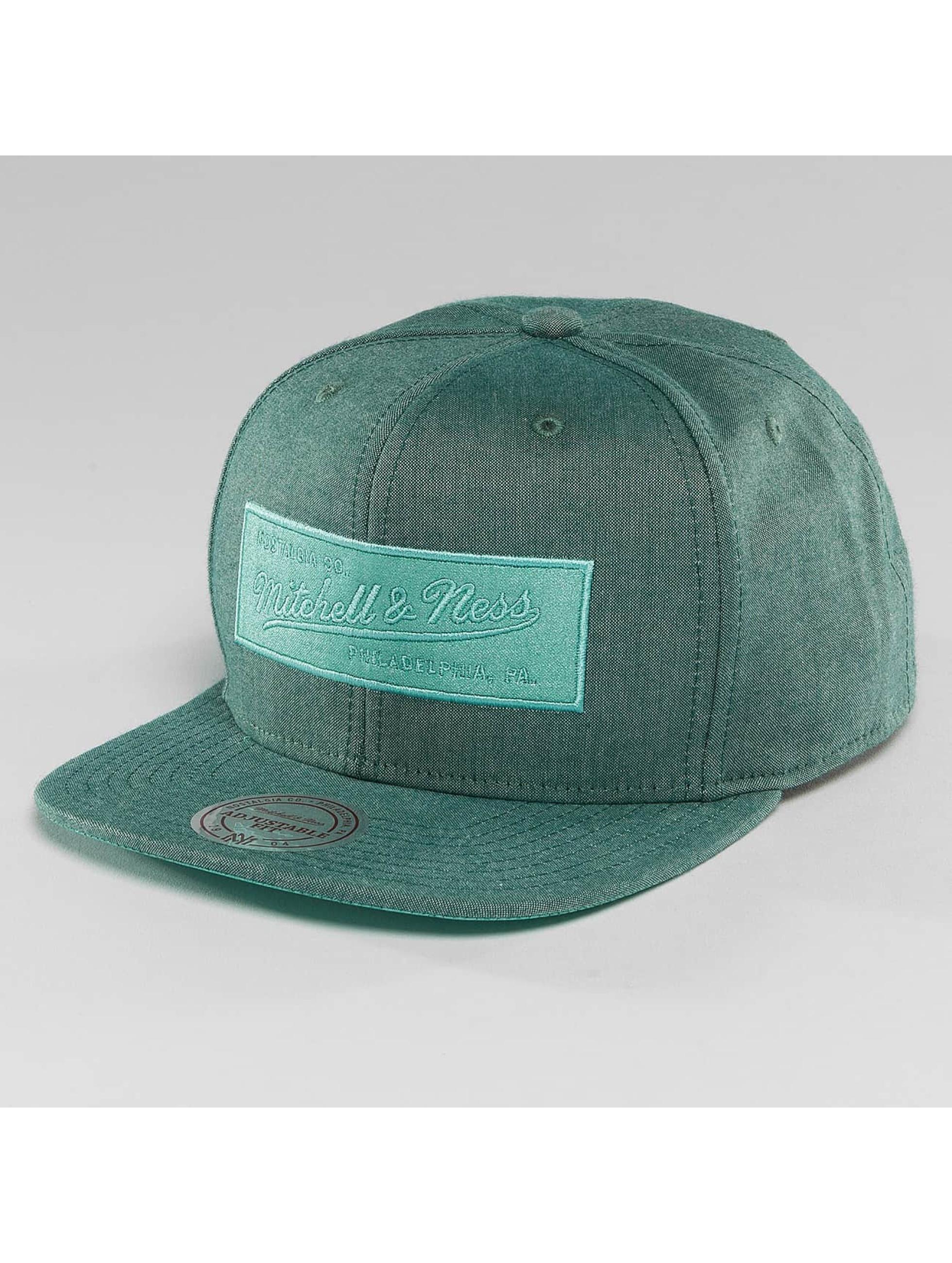 Mitchell & Ness Snapback Caps Italian Washed oliwkowy