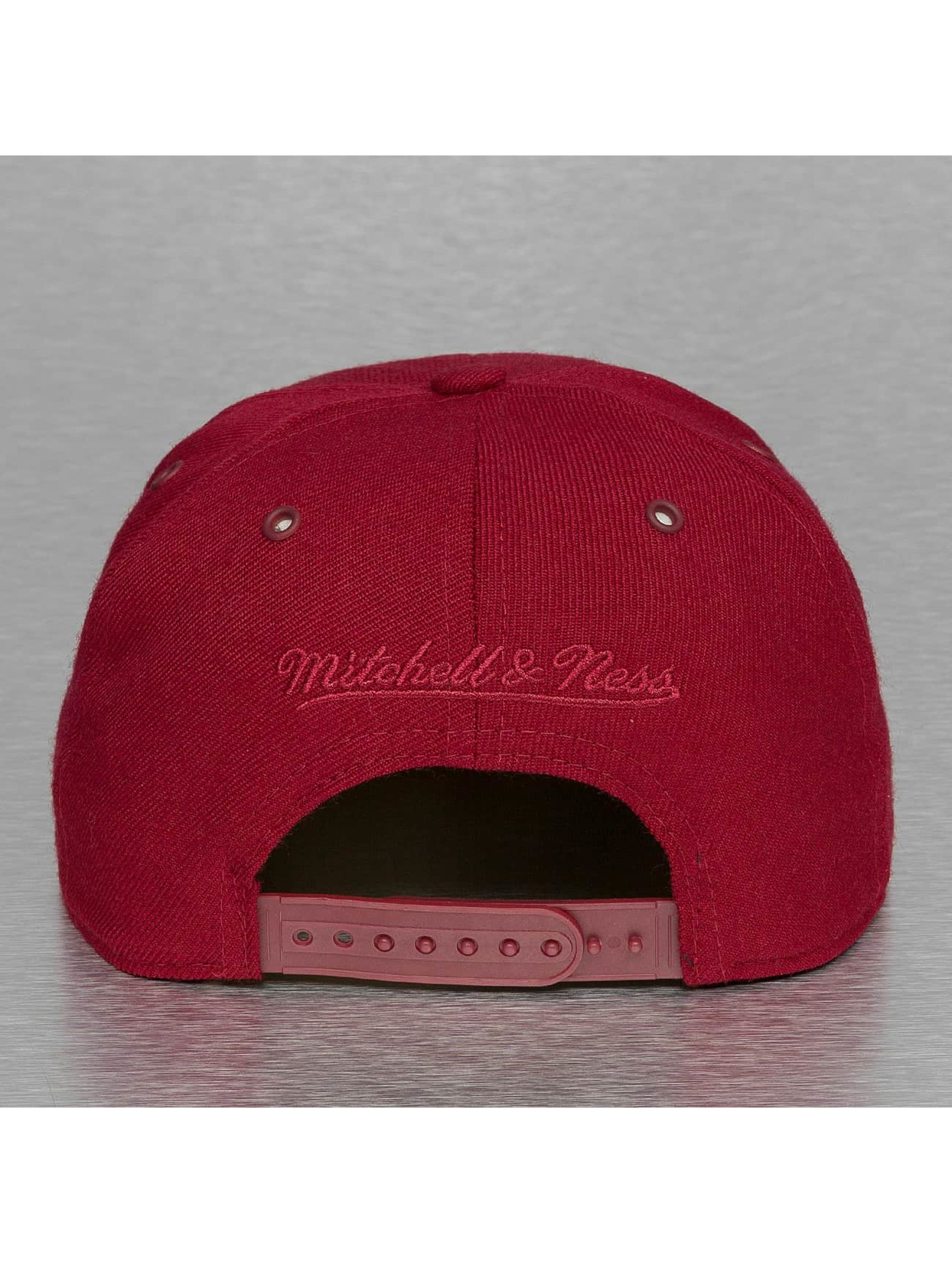 Mitchell & Ness Snapback Caps Swipe punainen