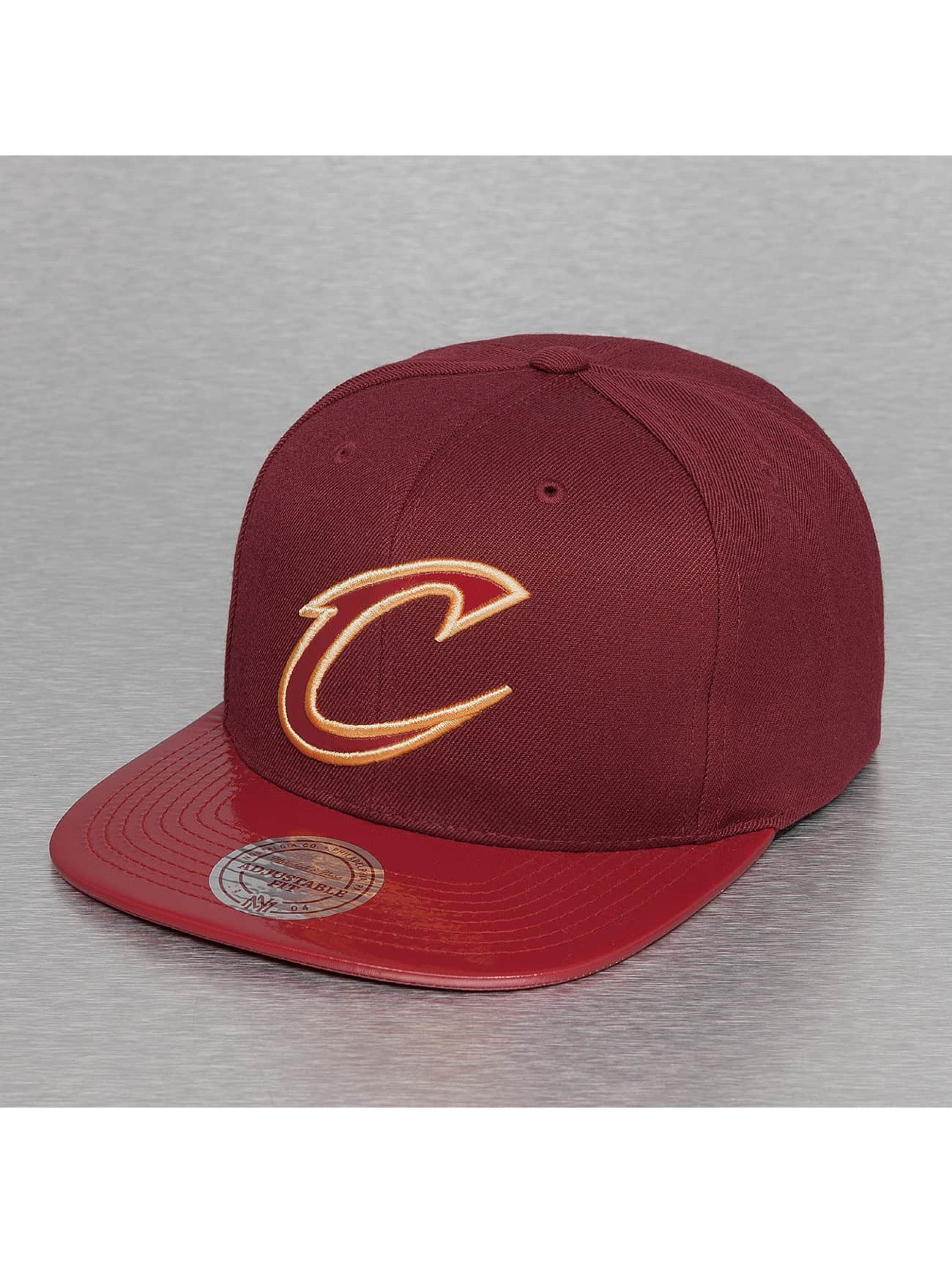 Mitchell & Ness Snapback Caps NBA Patent 2Tone Tonal Cleveland Cavaliers punainen
