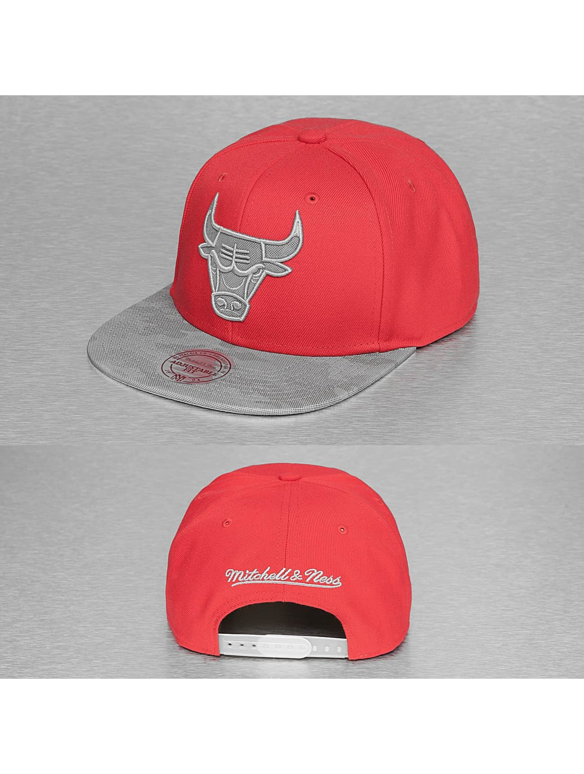 Mitchell & Ness Snapback Caps NBA Reflective Camo punainen
