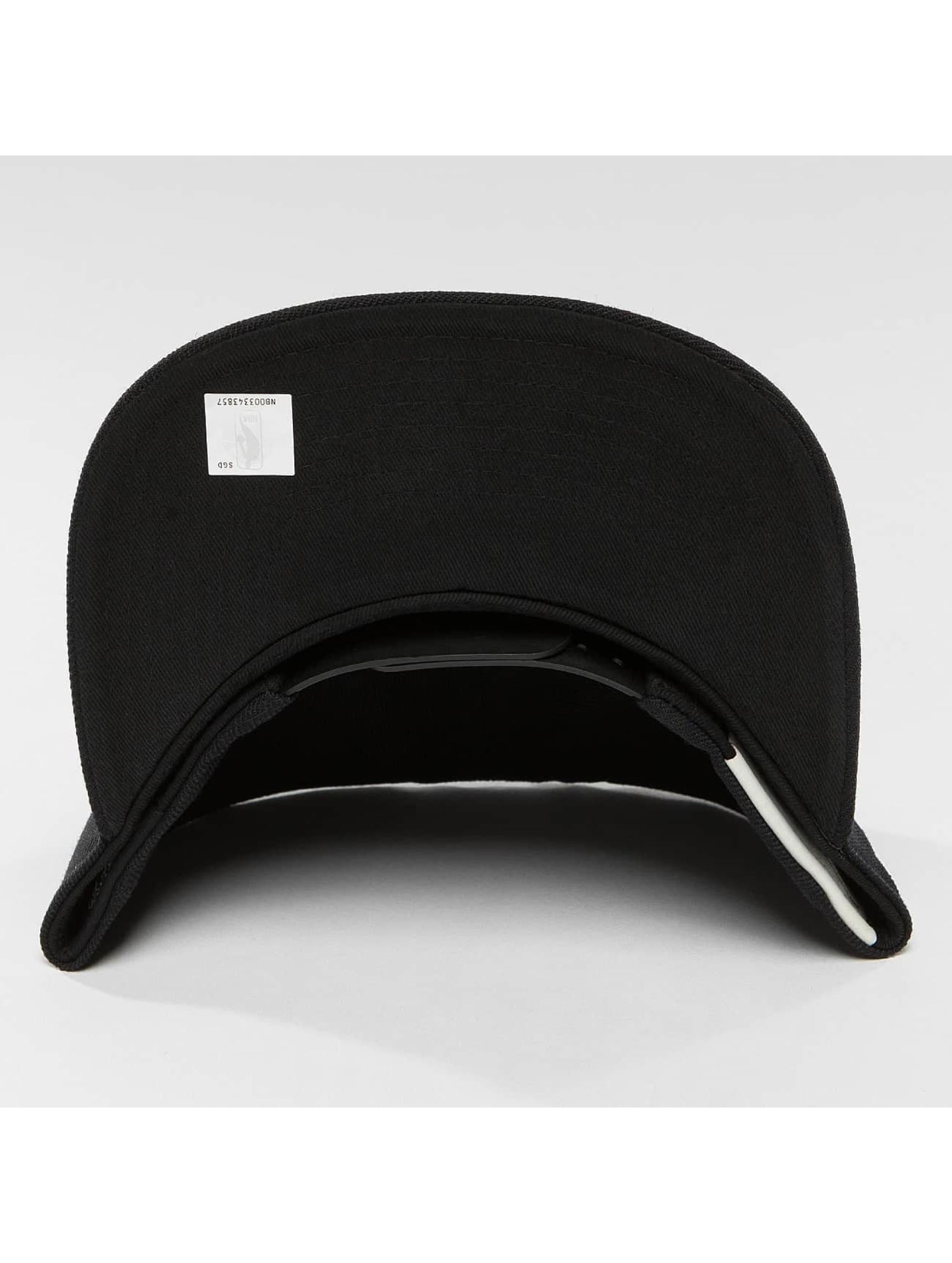 Mitchell & Ness Snapback Caps Black & White Brookyln Nets svart