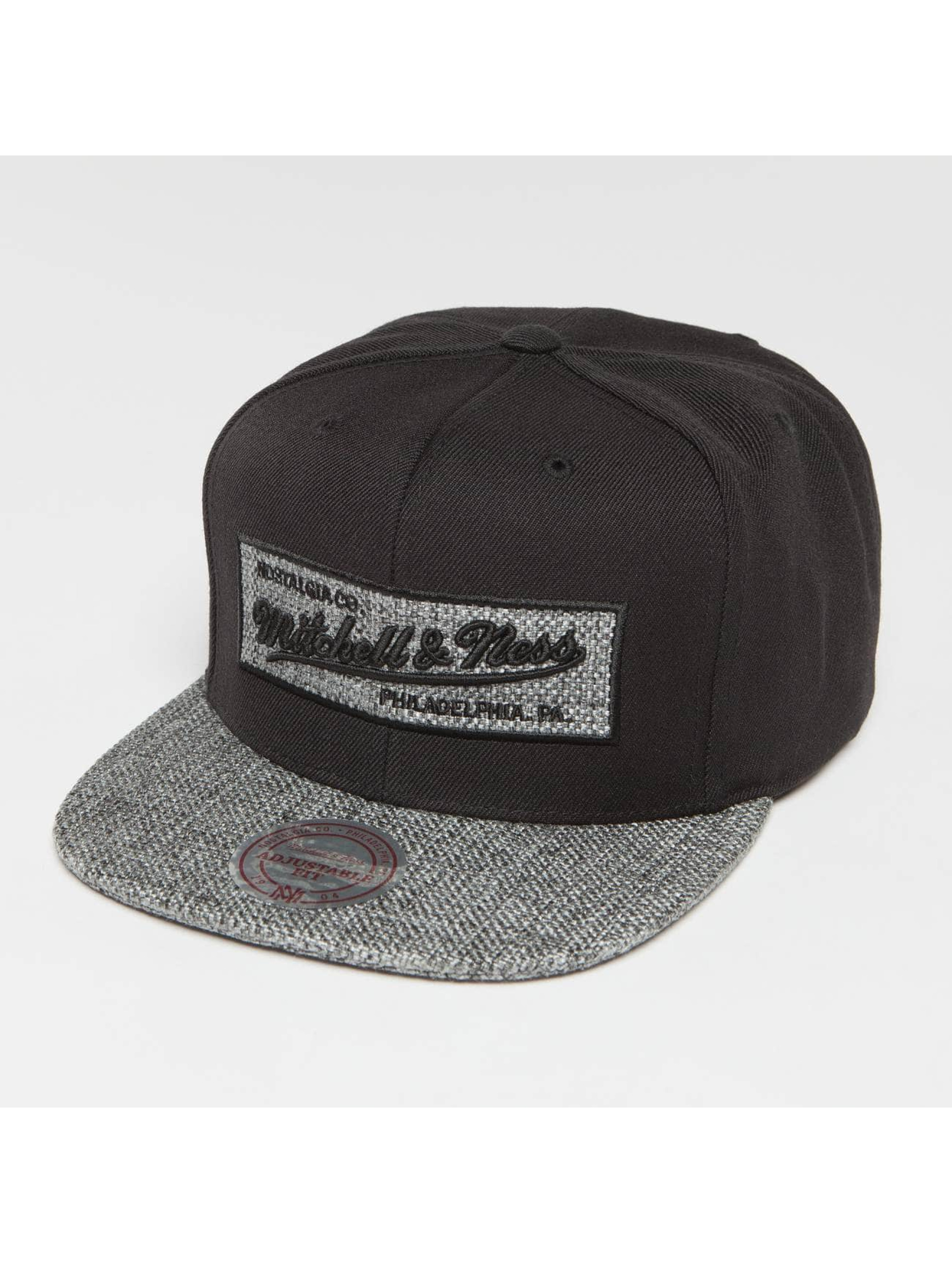Mitchell & Ness Snapback Caps Own Brand Woven TC svart