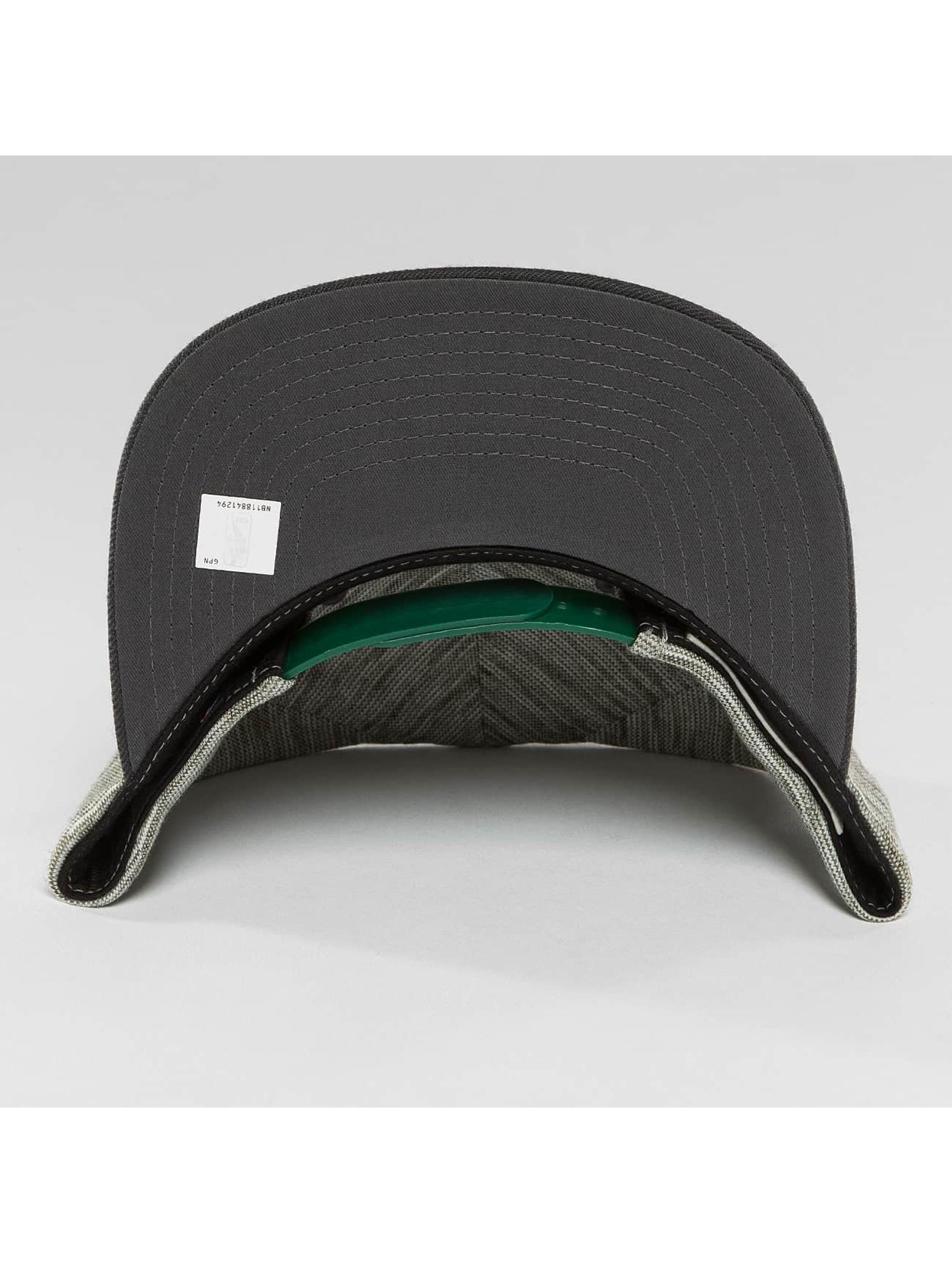 Mitchell & Ness Snapback Caps NBA Brushed Melange Boston Celtics szary