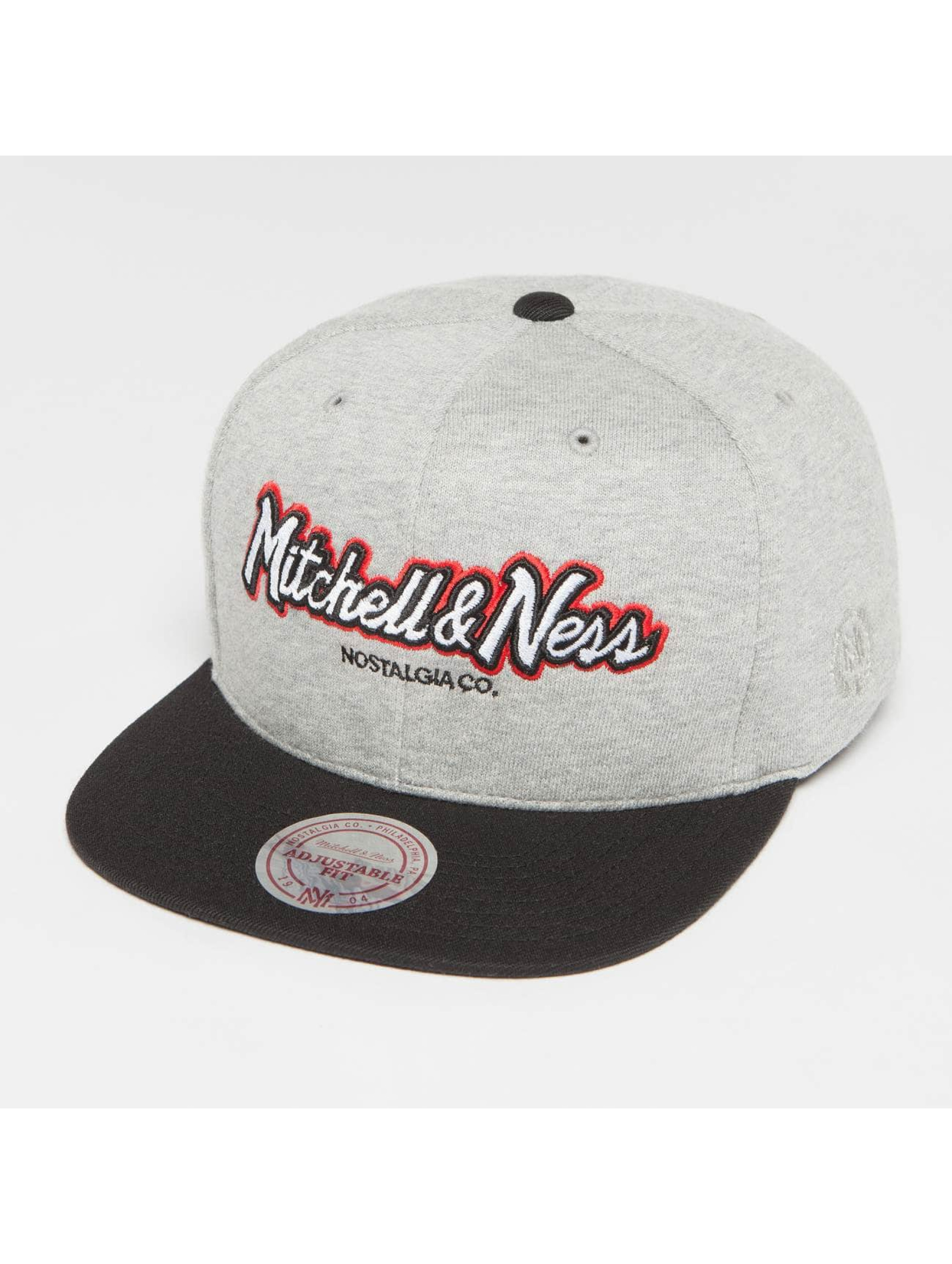 Mitchell & Ness Snapback Caps The 3-Tone Own Brand Pinscript szary