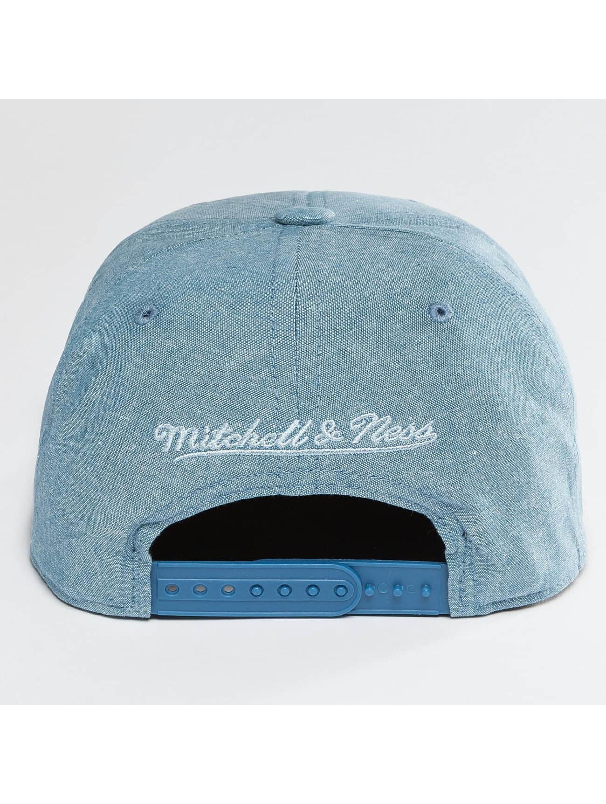 Mitchell & Ness Snapback Italian Washed modrá