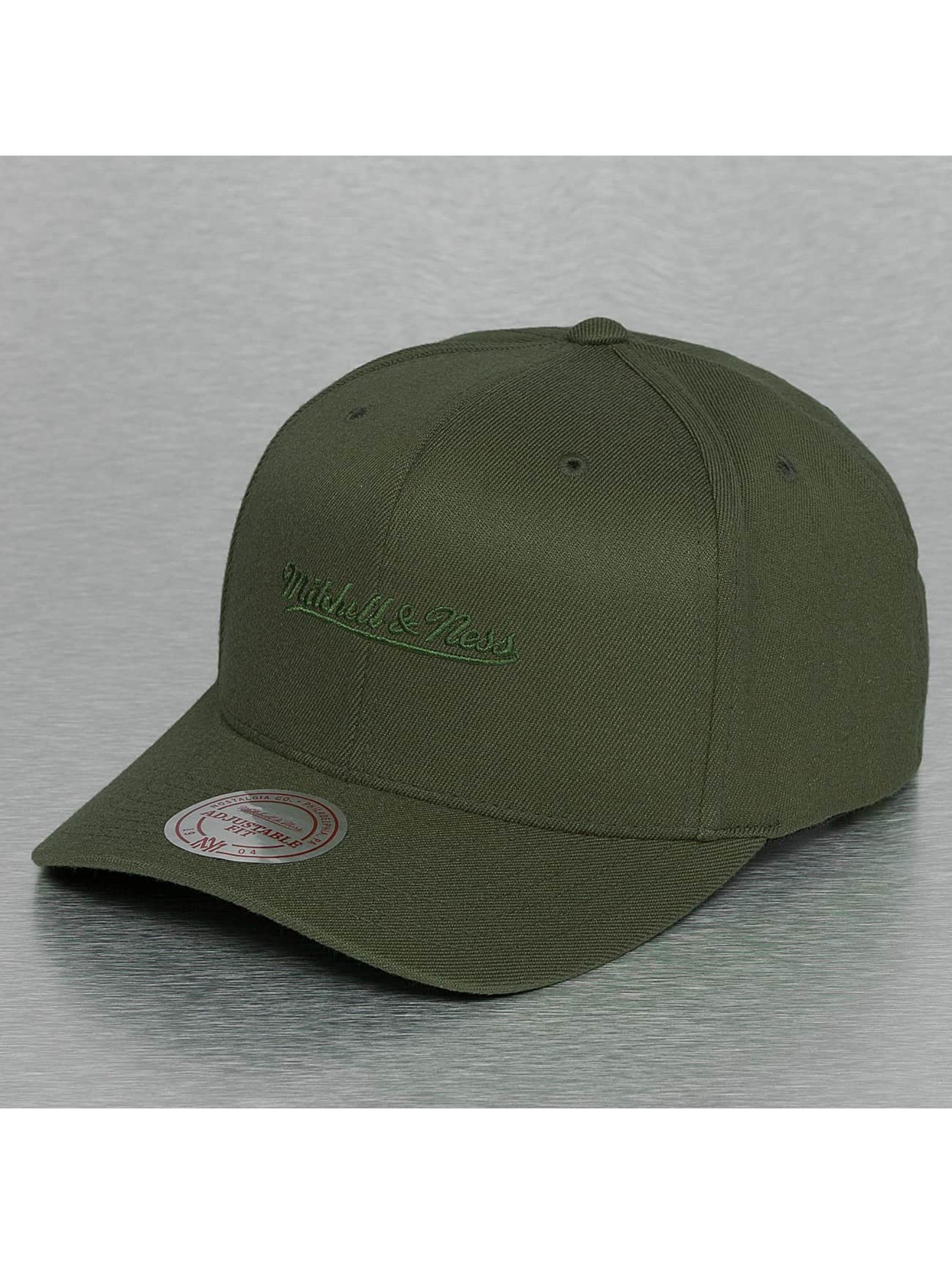 Mitchell & Ness Snapback Tonal Logo High Crown 110 olivová