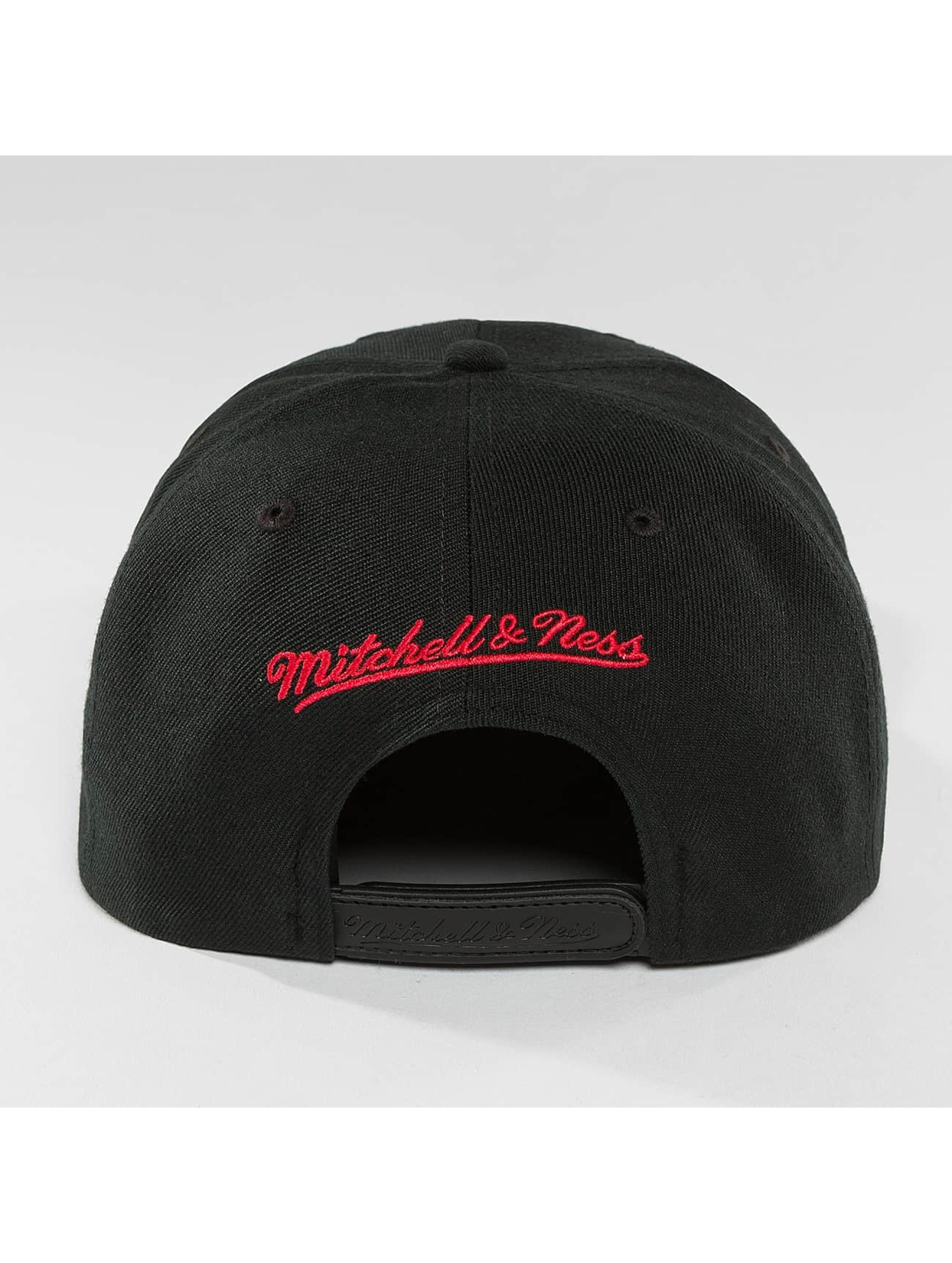 Mitchell & Ness Snapbackkeps Red Pop Golden State Warriors svart