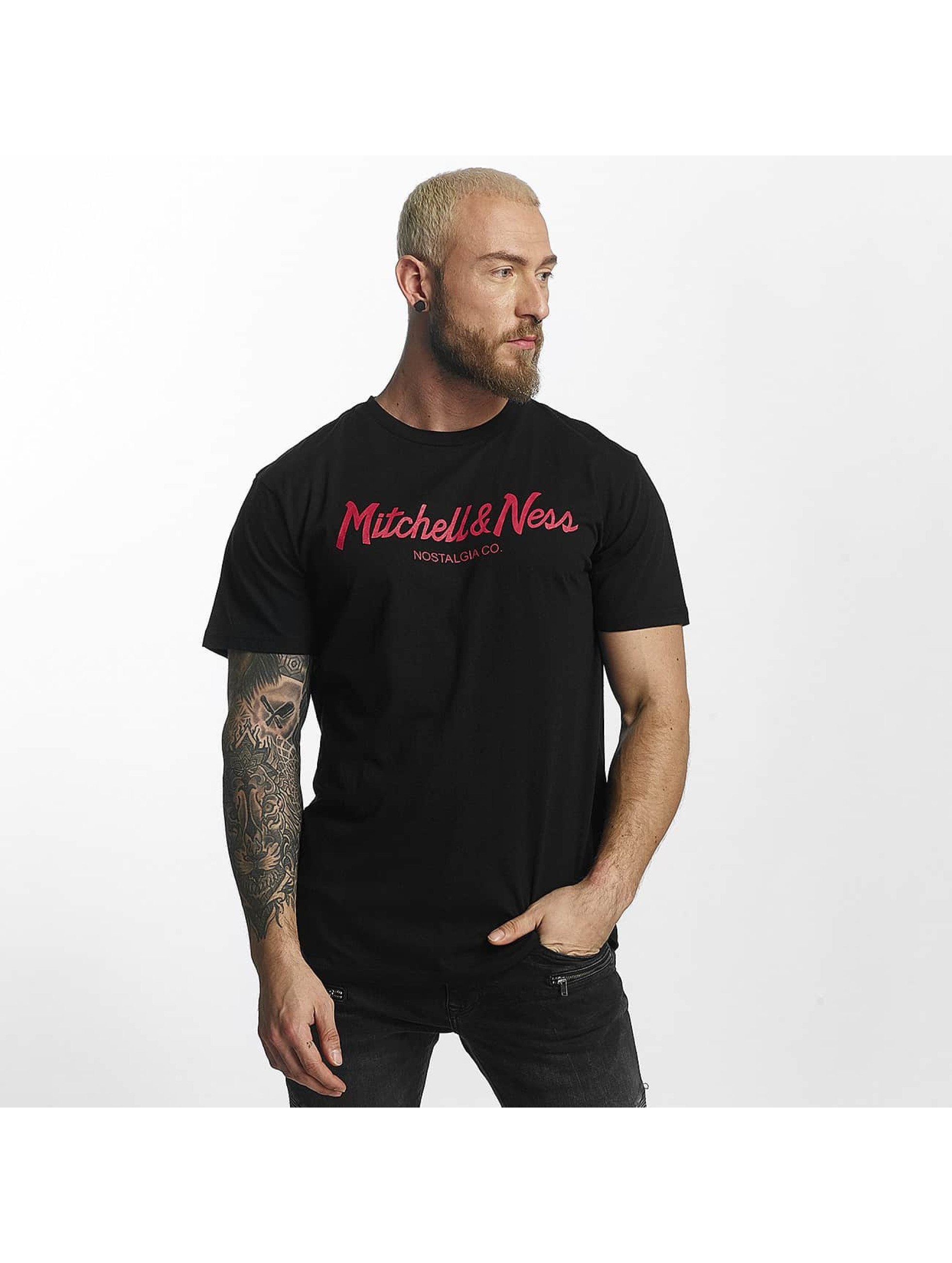 Mitchell & Ness T-paidat Red Pop Tailored musta
