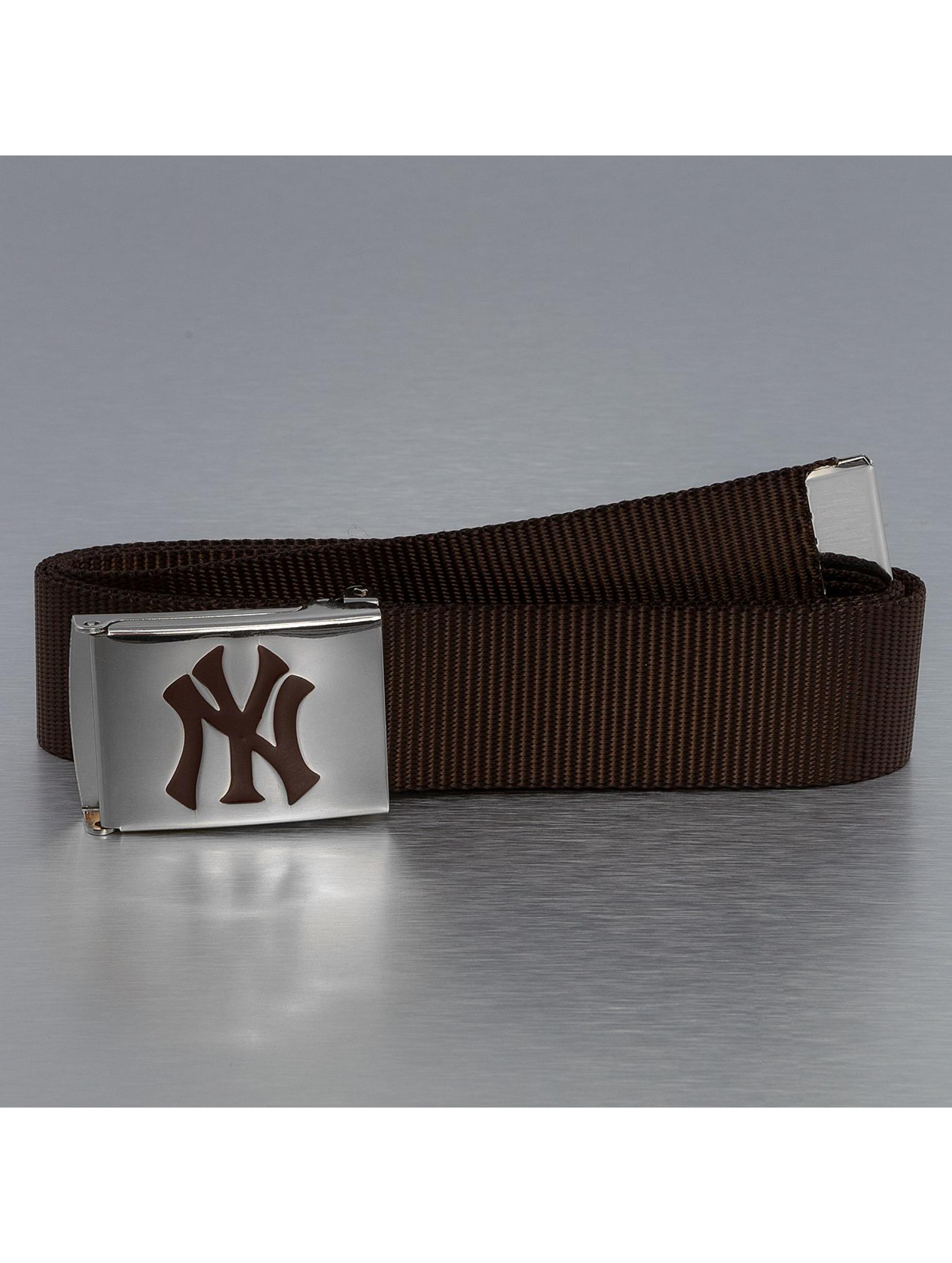MLB Ремень MLB NY Yankees Premium Woven коричневый