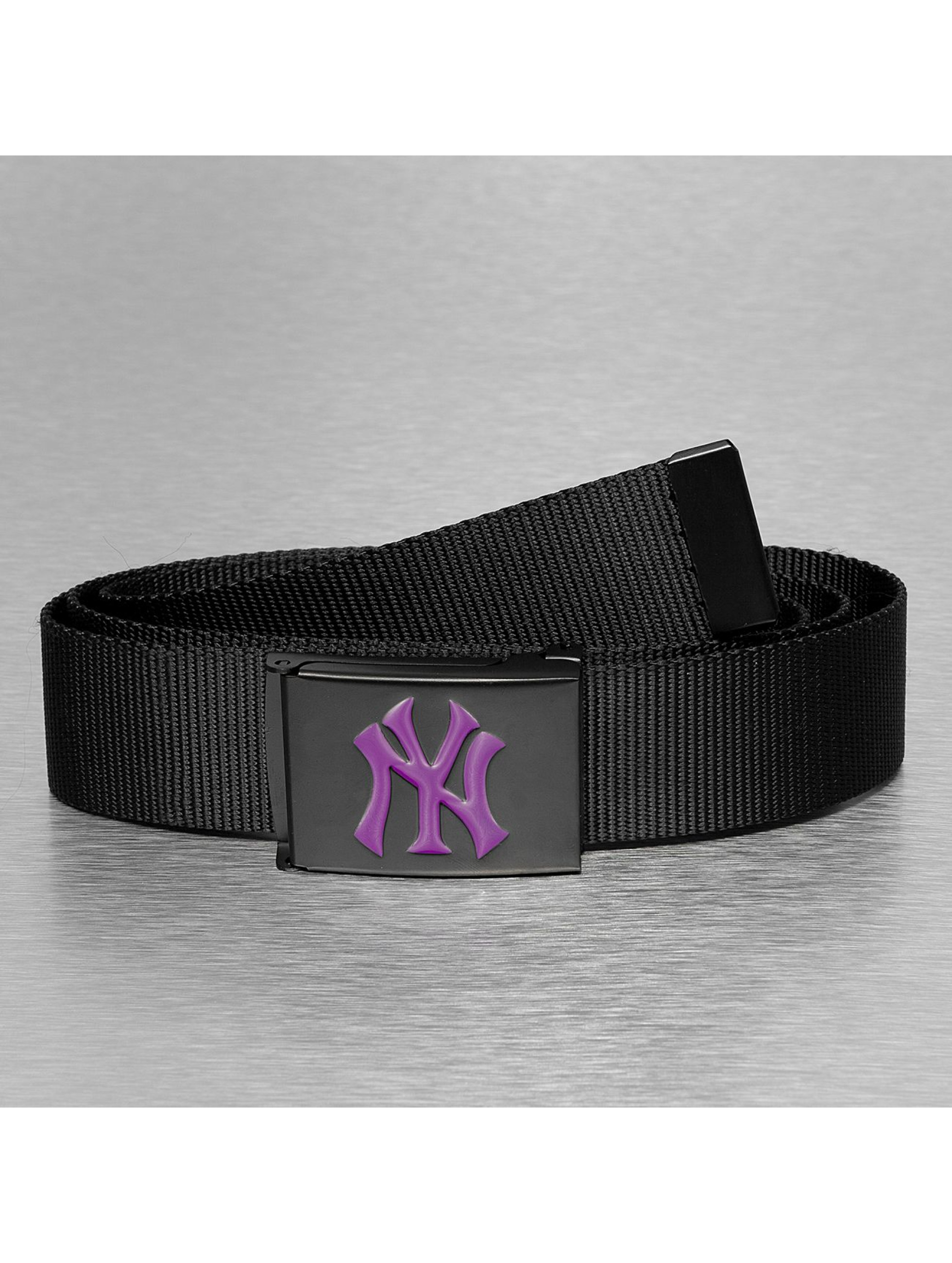 MLB Ремень MLB NY Yankees Premium Black Woven Single черный