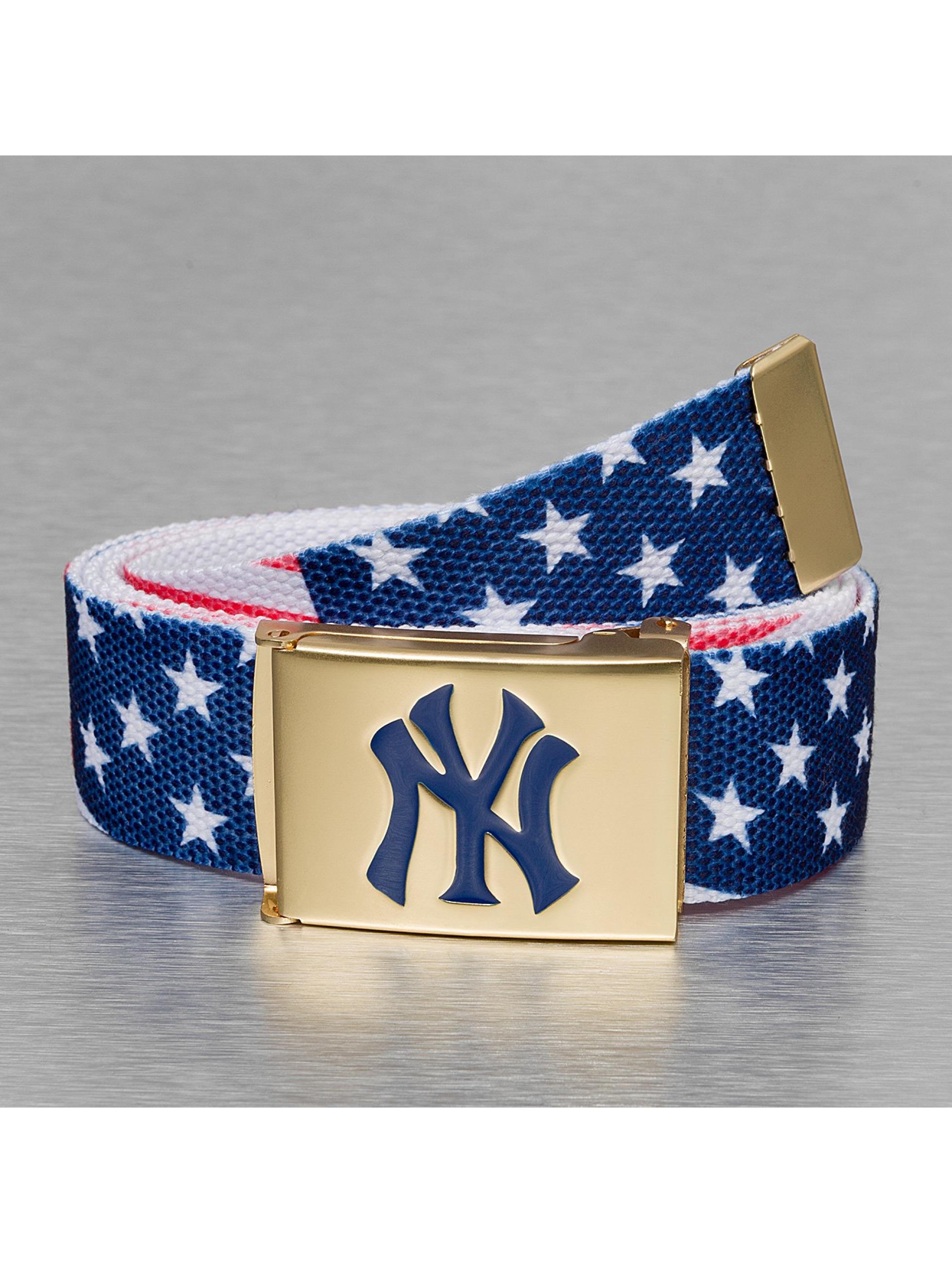 MLB Gürtel NY Flag blau