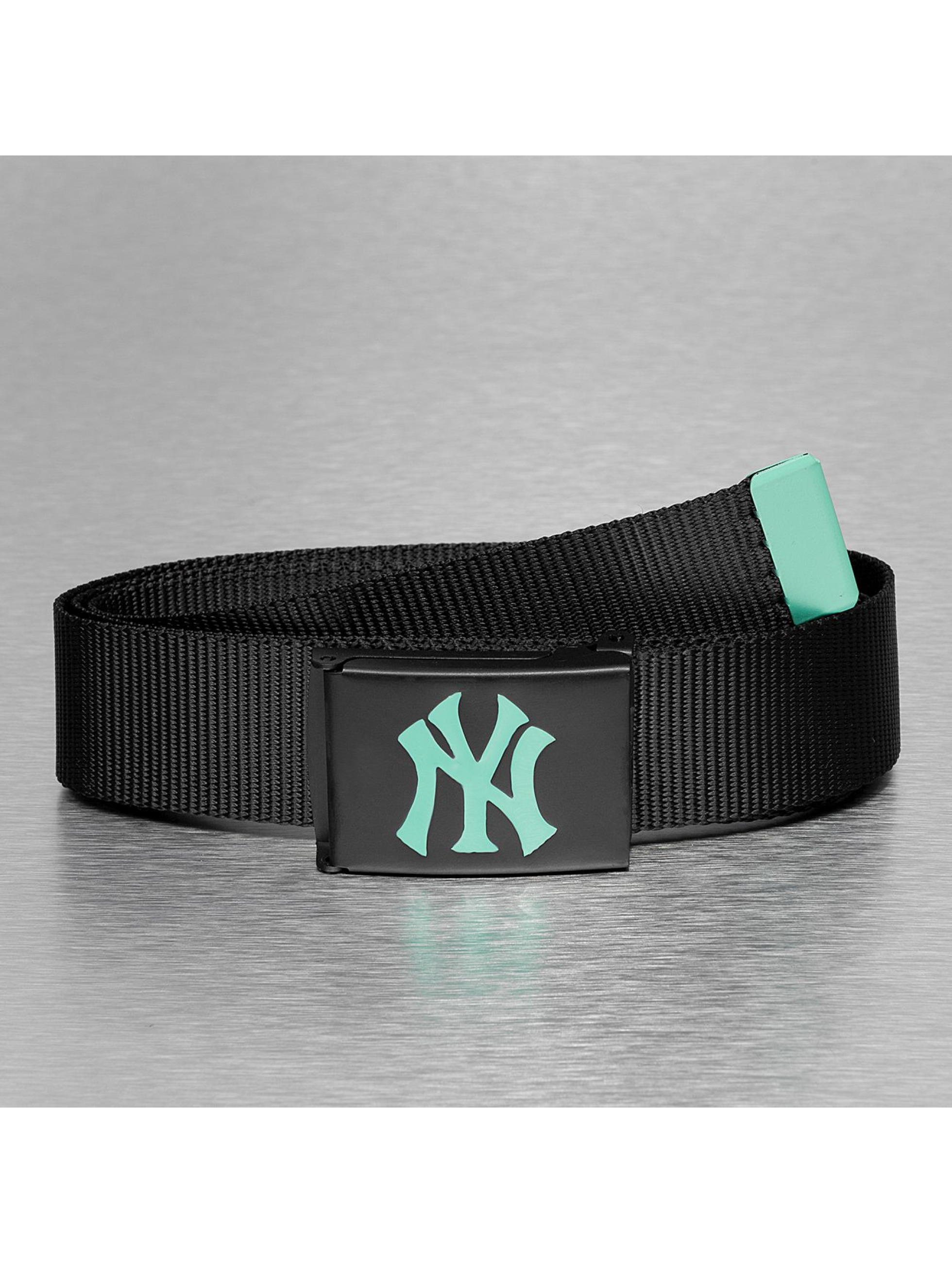 MLB riem MLB NY Yankees Premium Black Woven Single zwart