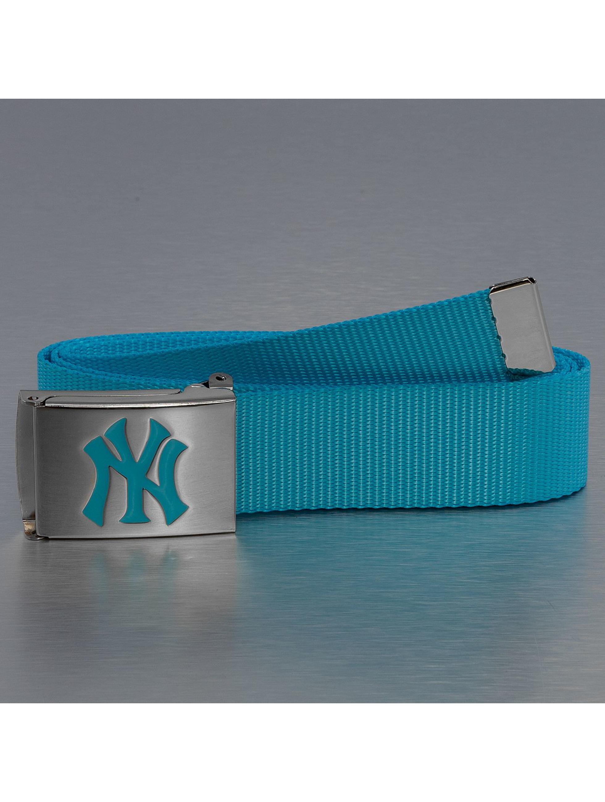 MLB Vyöt MLB NY Yankees Premium Woven turkoosi
