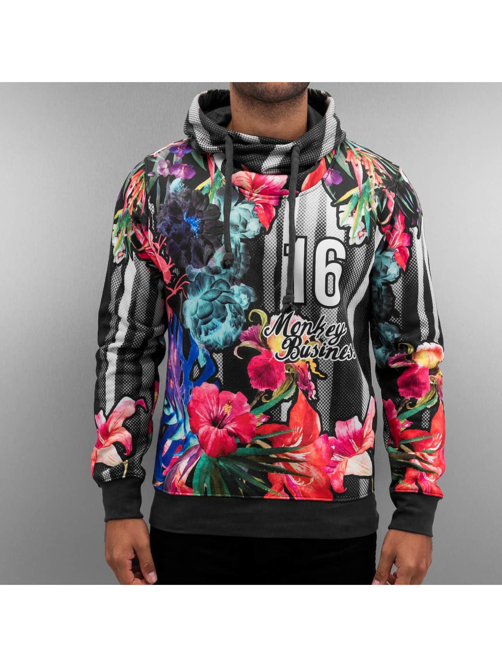 Hoody Flower in bunt