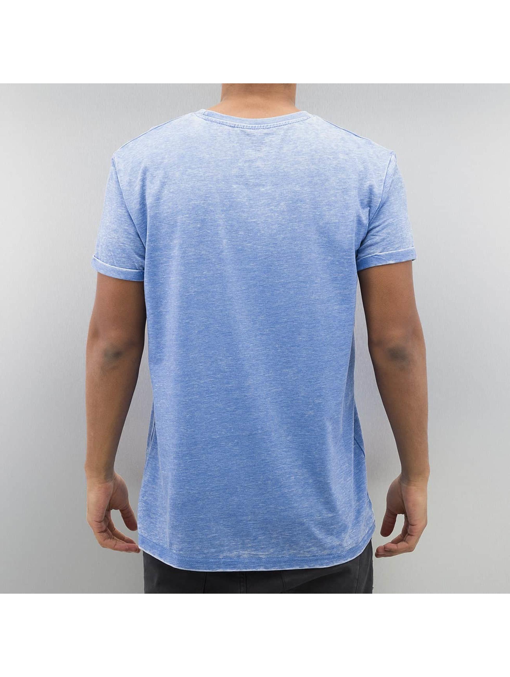 Monkey Business T-Shirt Geometric Skull bleu
