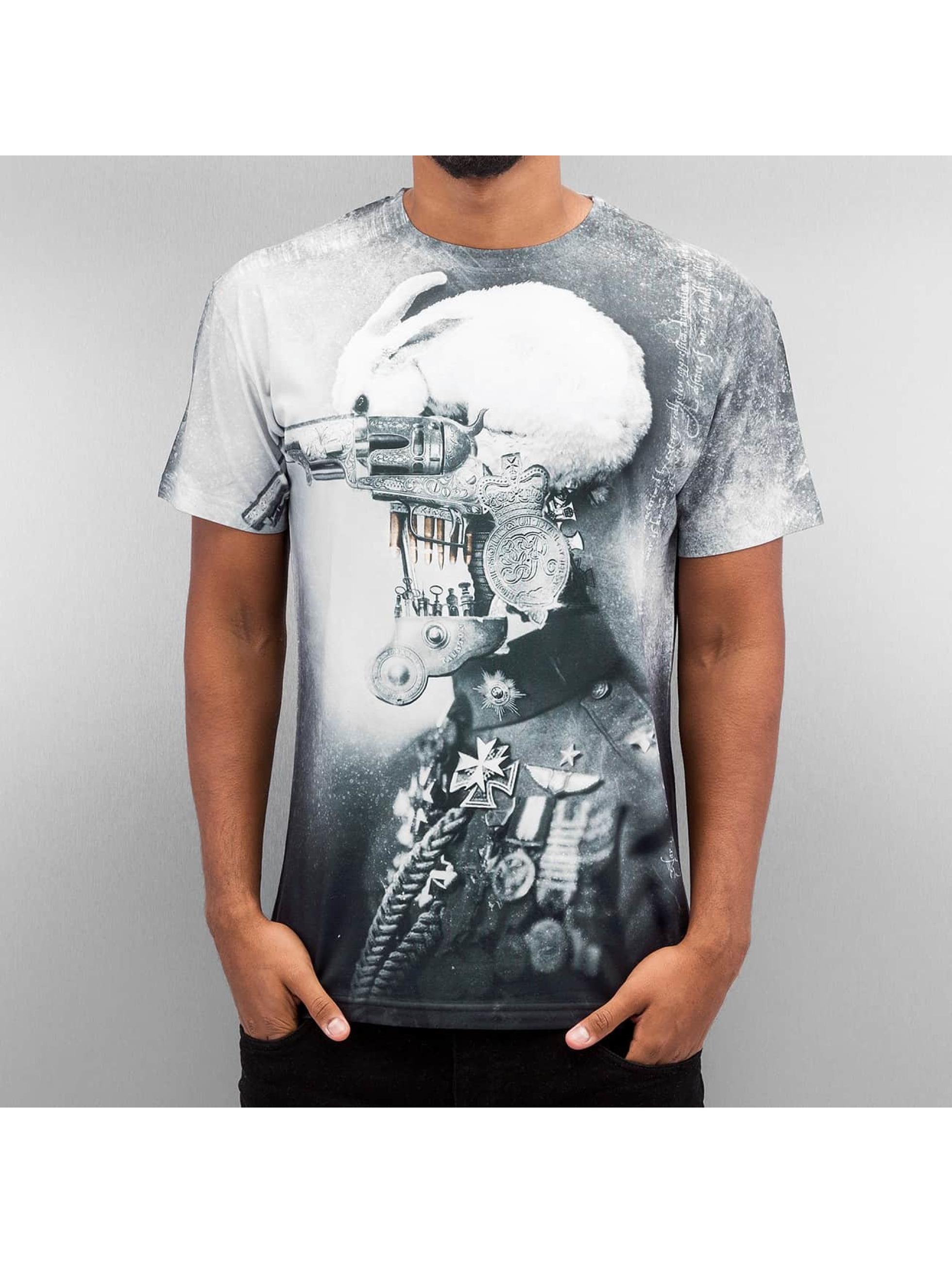 Monkey Business T-shirt War Rabbit färgad