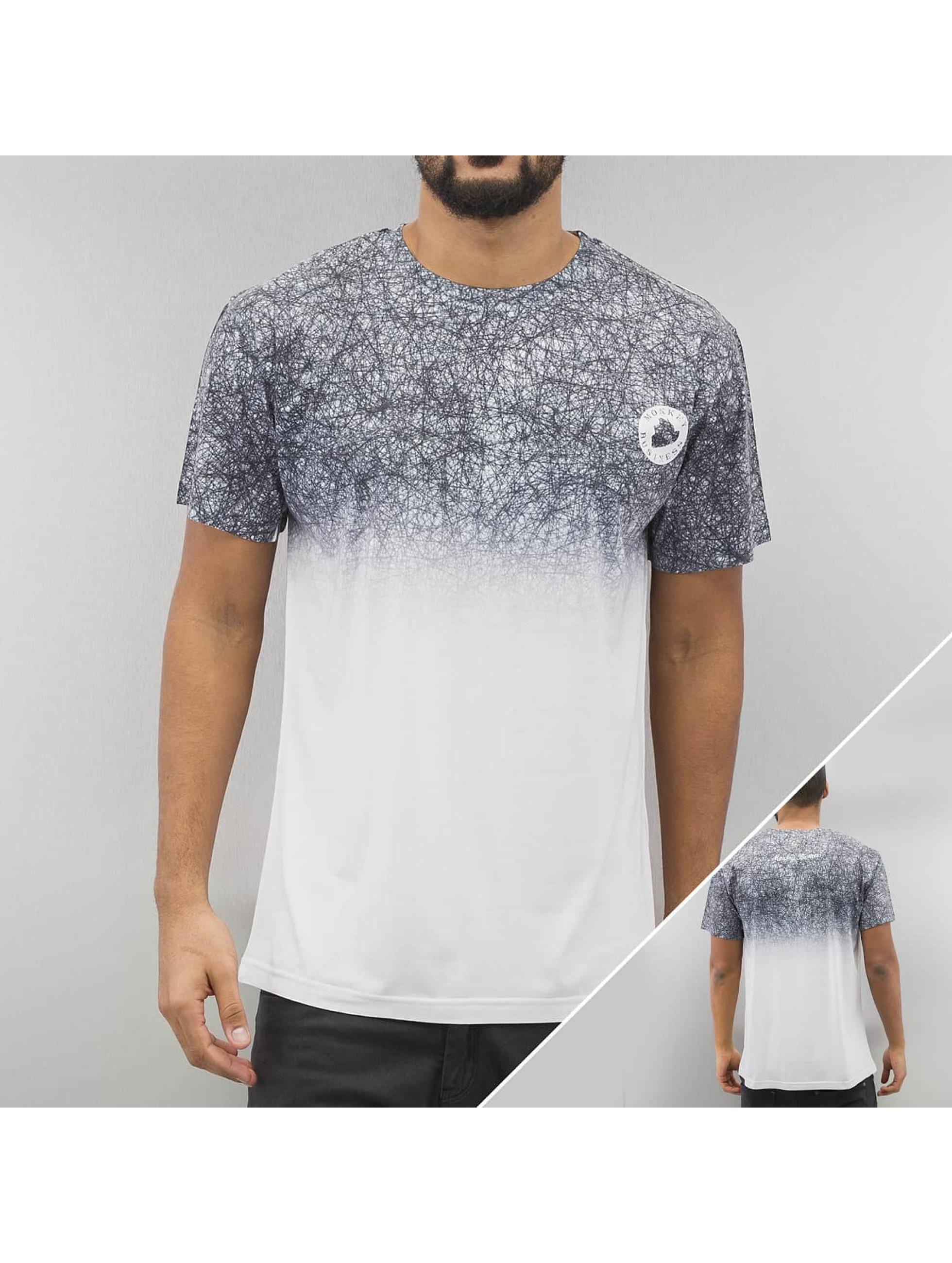 Monkey Business T-Shirt Black Scribble grey