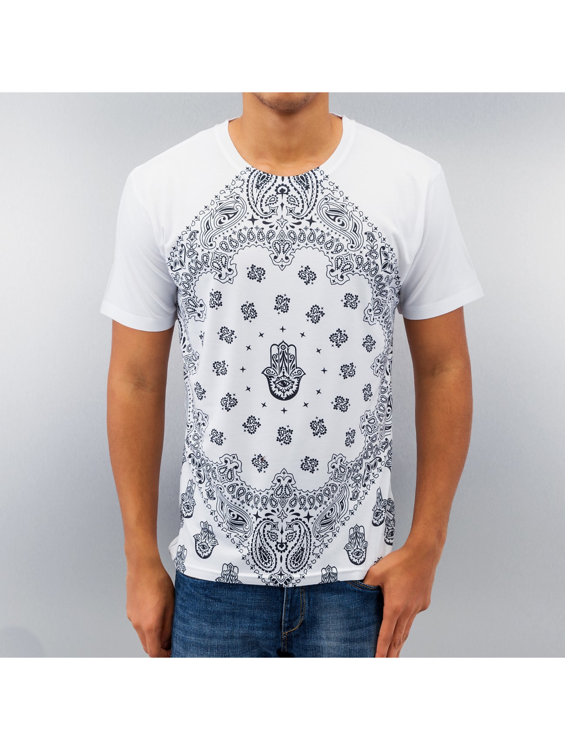 Monkey Business T-Shirt Business Bandana White weiß