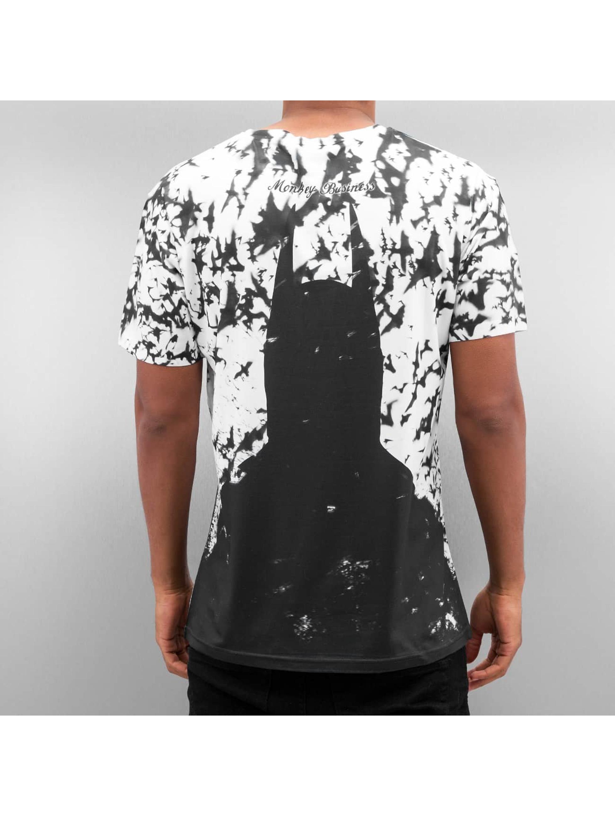 Monkey Business T-Shirty Gotham´s Dark Side czarny