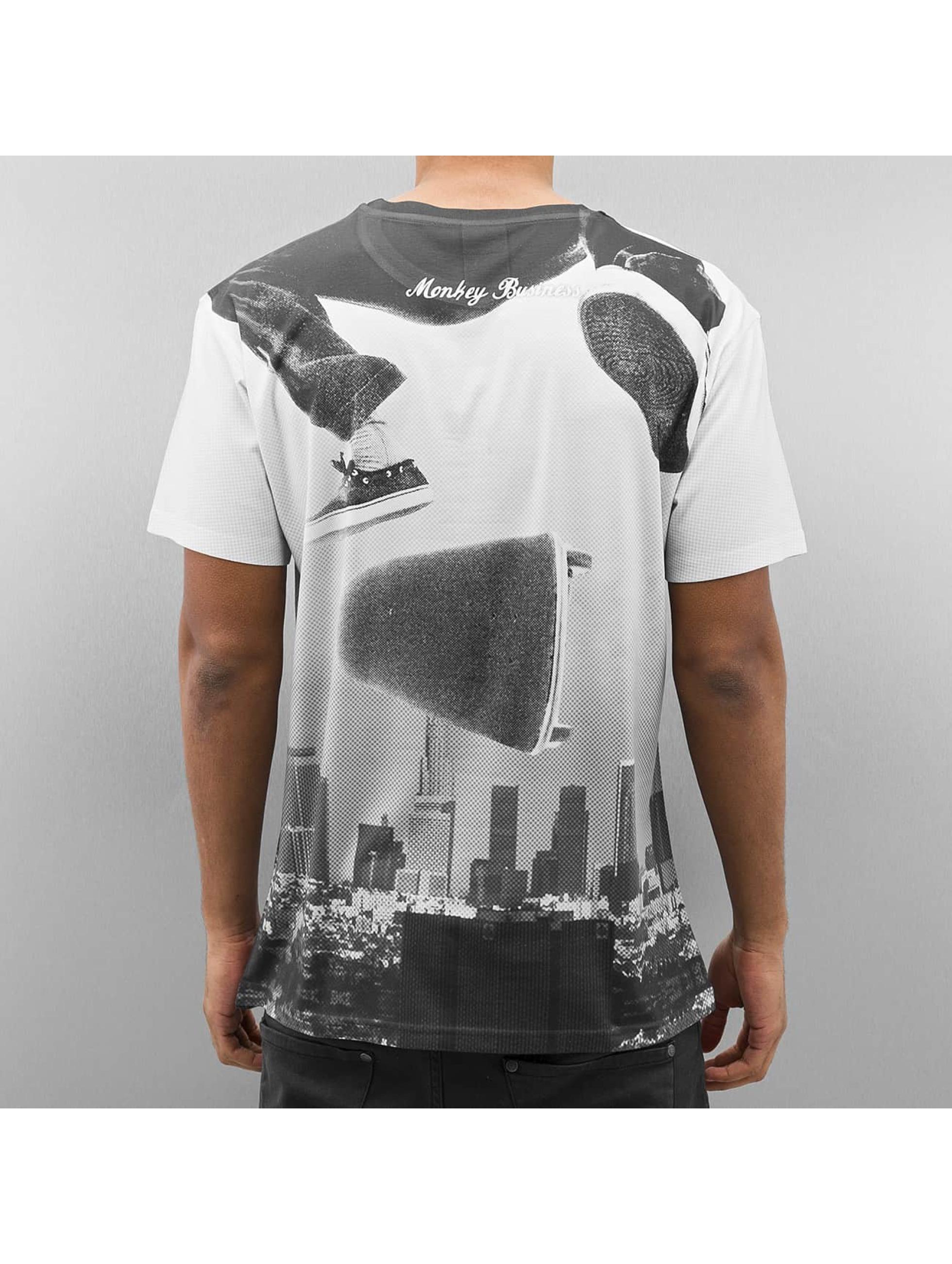 Monkey Business T-skjorter La Skate grå