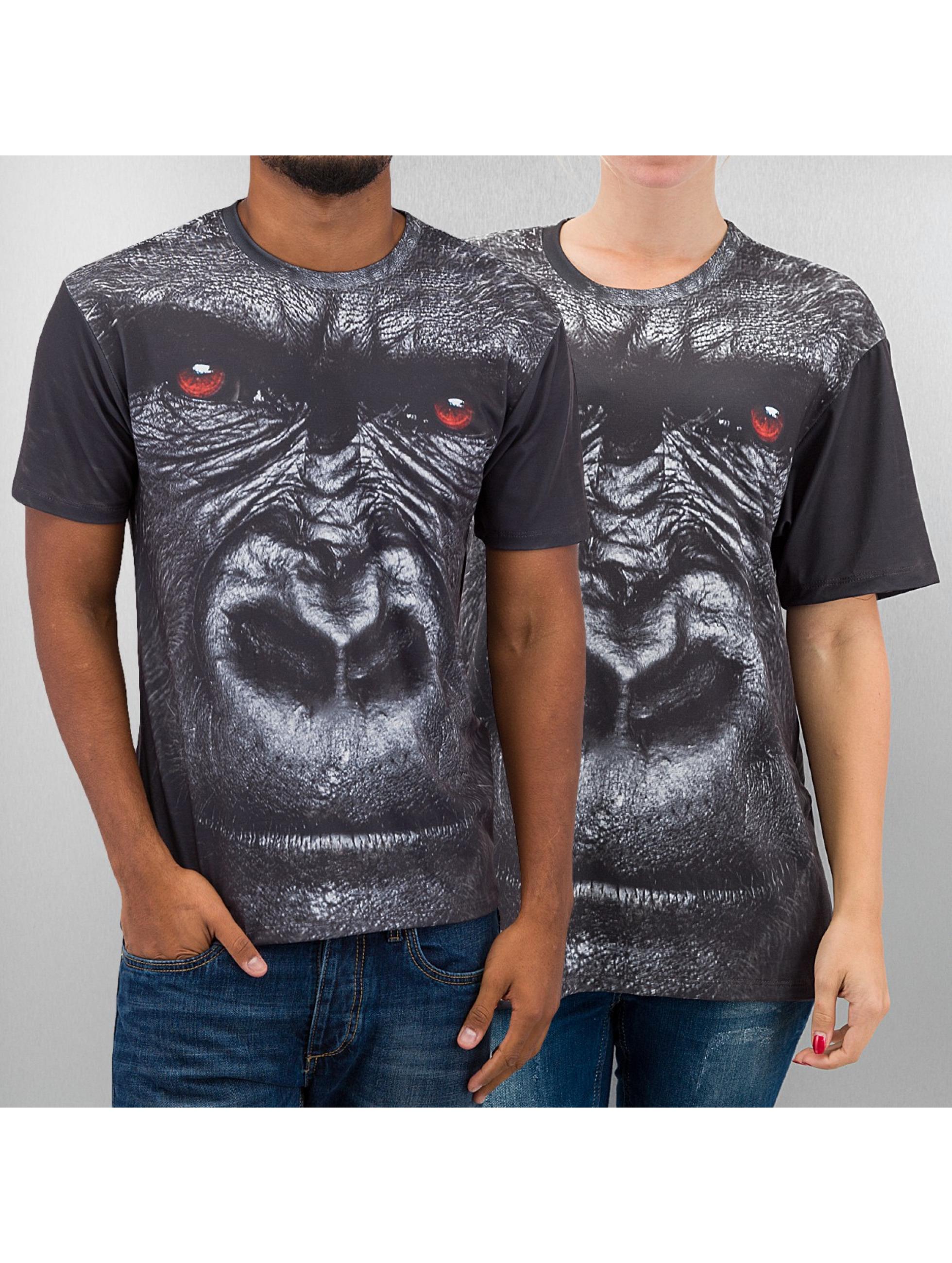 Mr. Gugu & Miss Go t-shirt Gorilla grijs