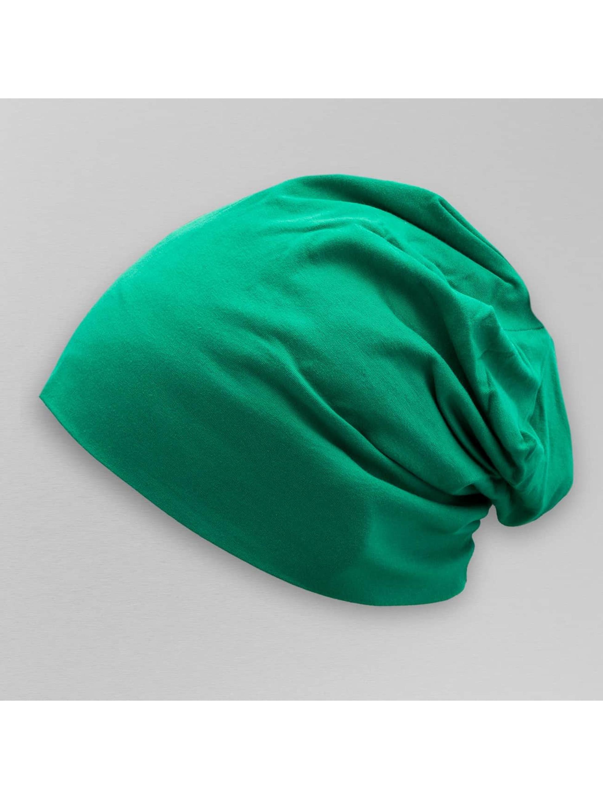 MSTRDS Čiapky Jersey zelená
