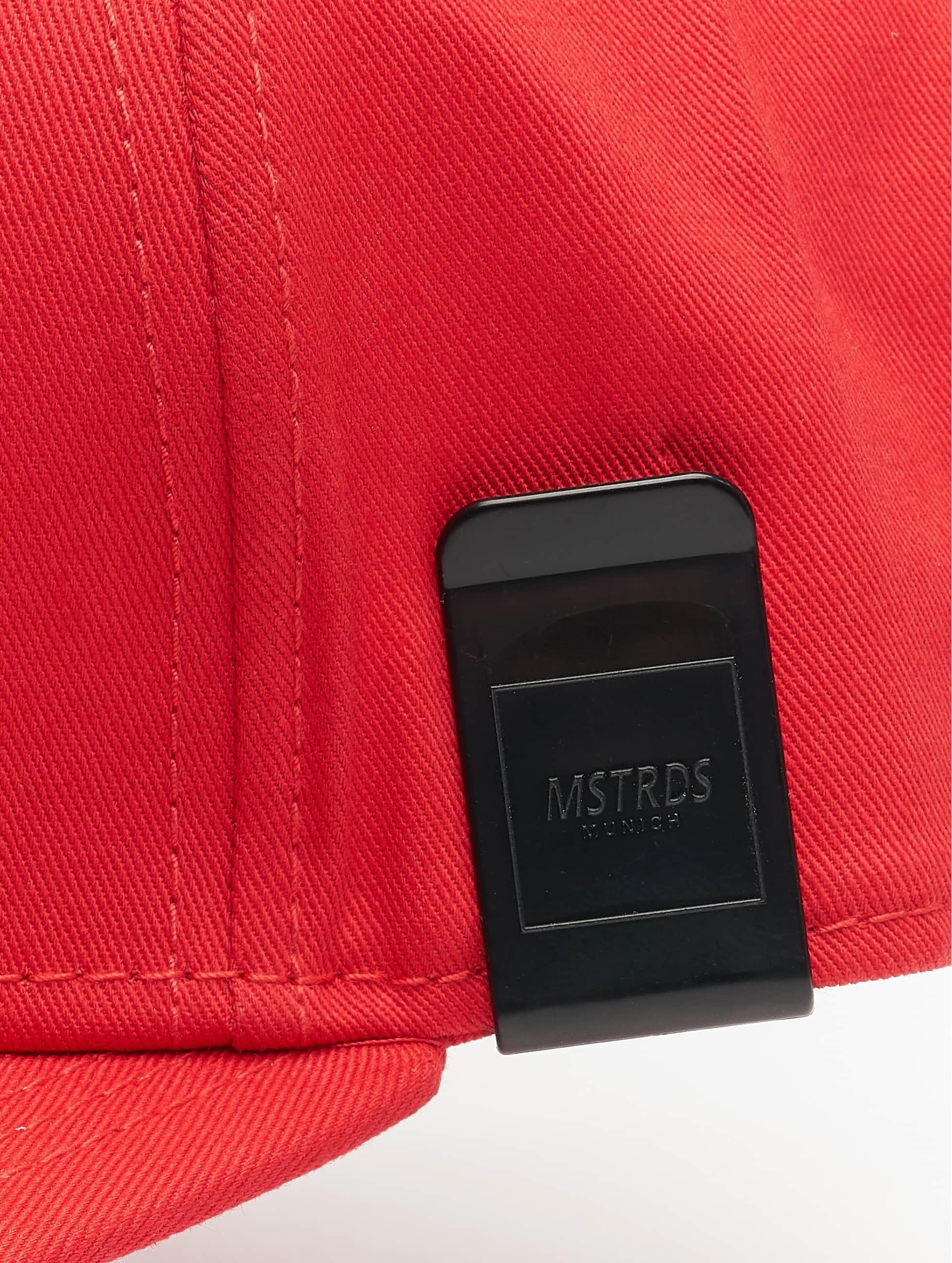 MSTRDS Кепка с застёжкой Money Clip красный