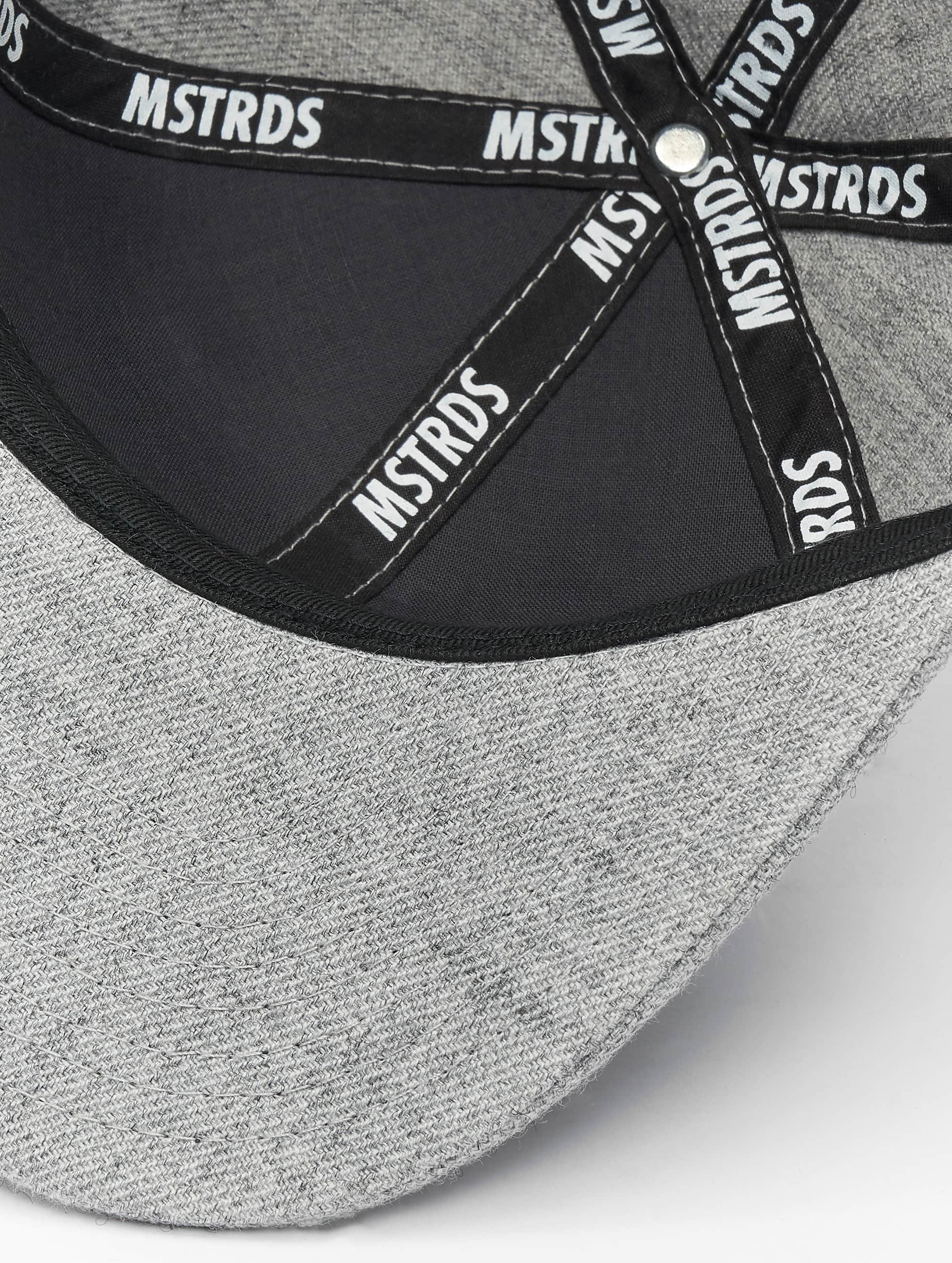 MSTRDS Кепка с застёжкой I Letter серый