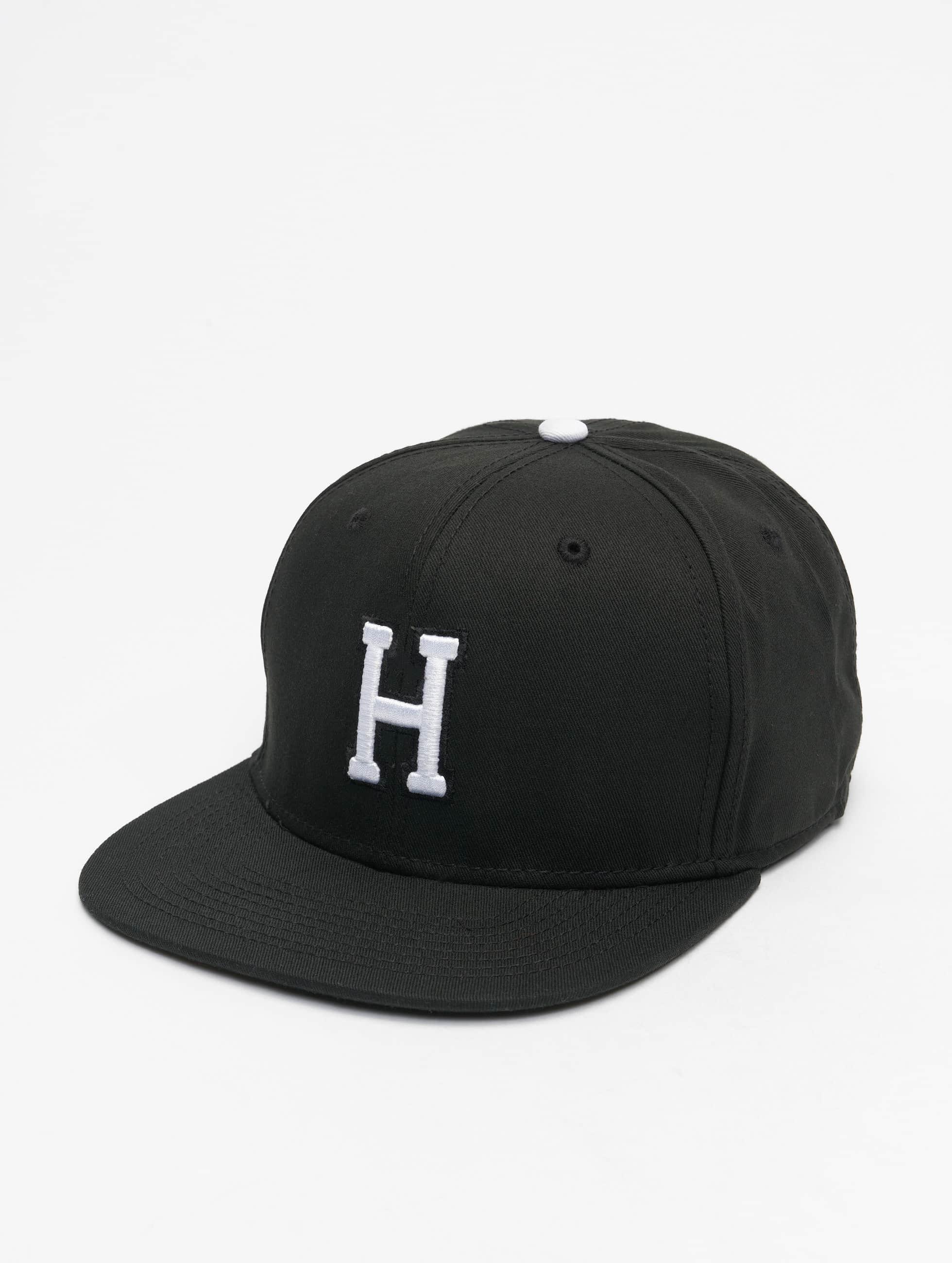 MSTRDS Кепка с застёжкой H Letter черный
