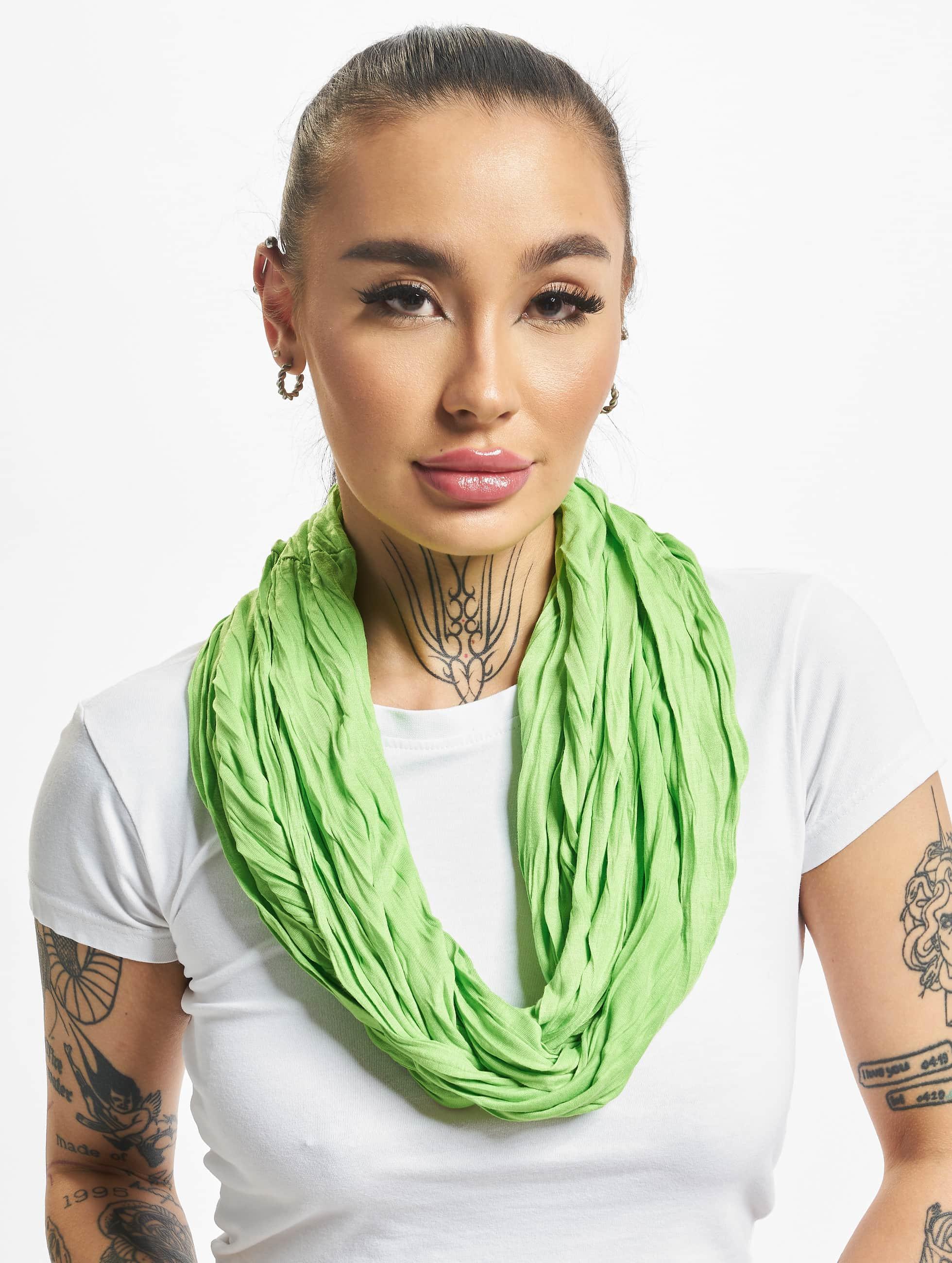 MSTRDS Шарф / платок Wrinkle Loop зеленый