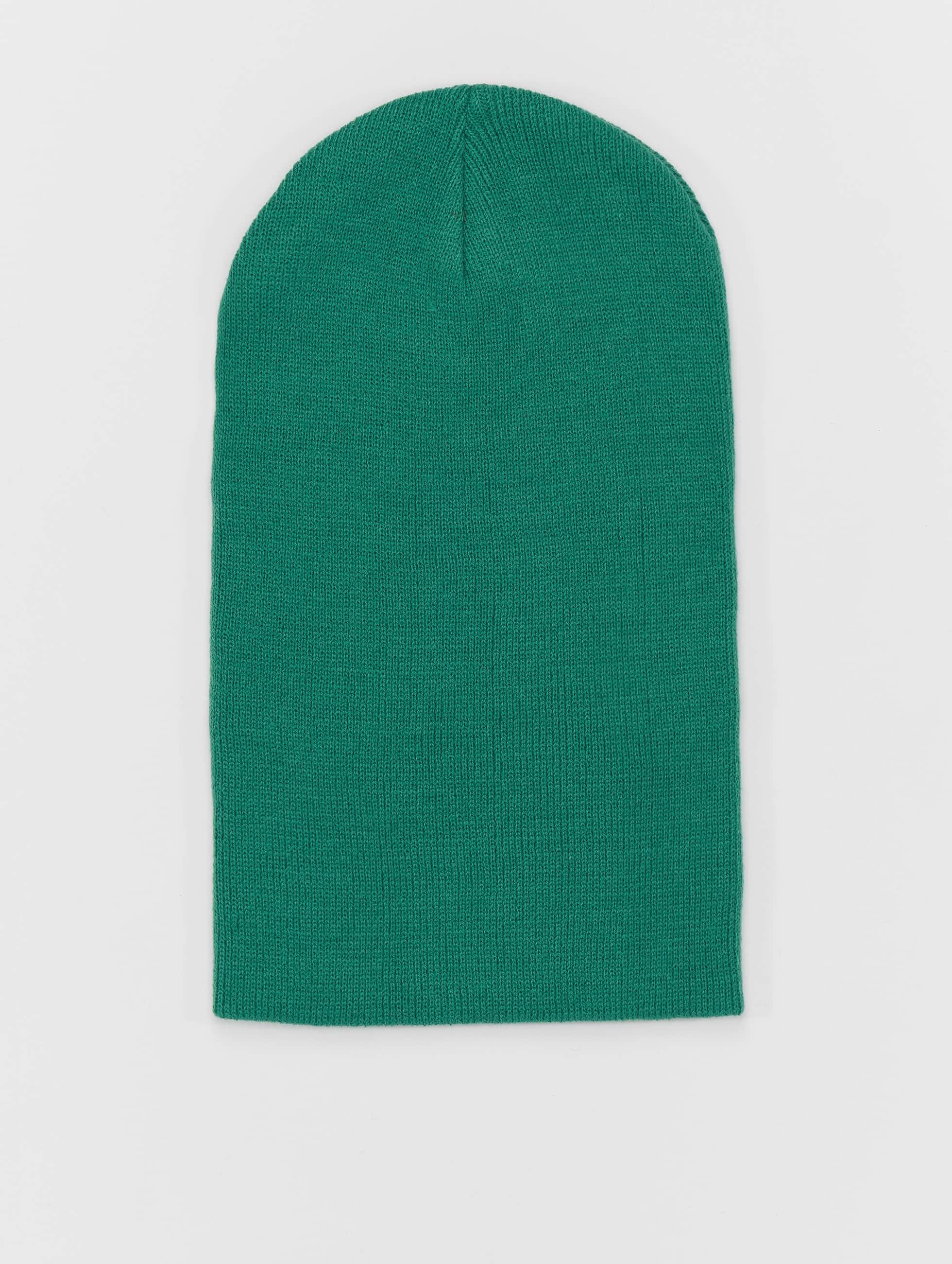 MSTRDS шляпа Basic Flap Long зеленый