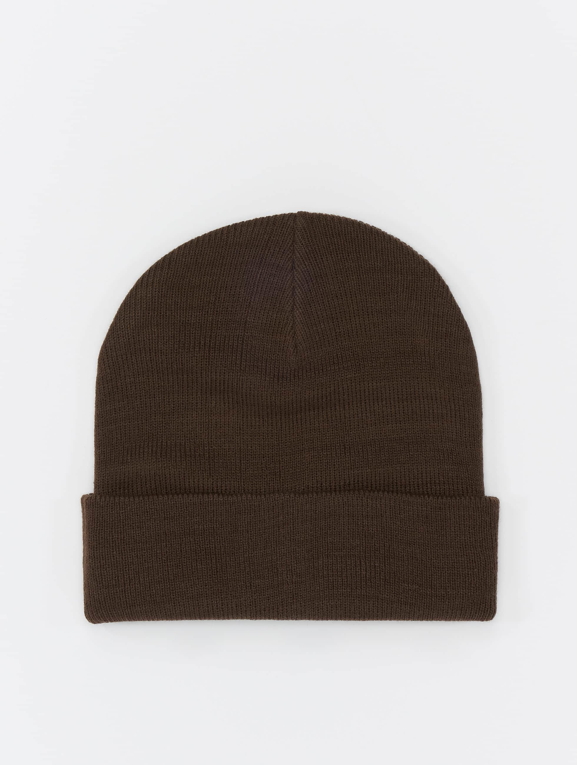 MSTRDS шляпа Basic Flap коричневый