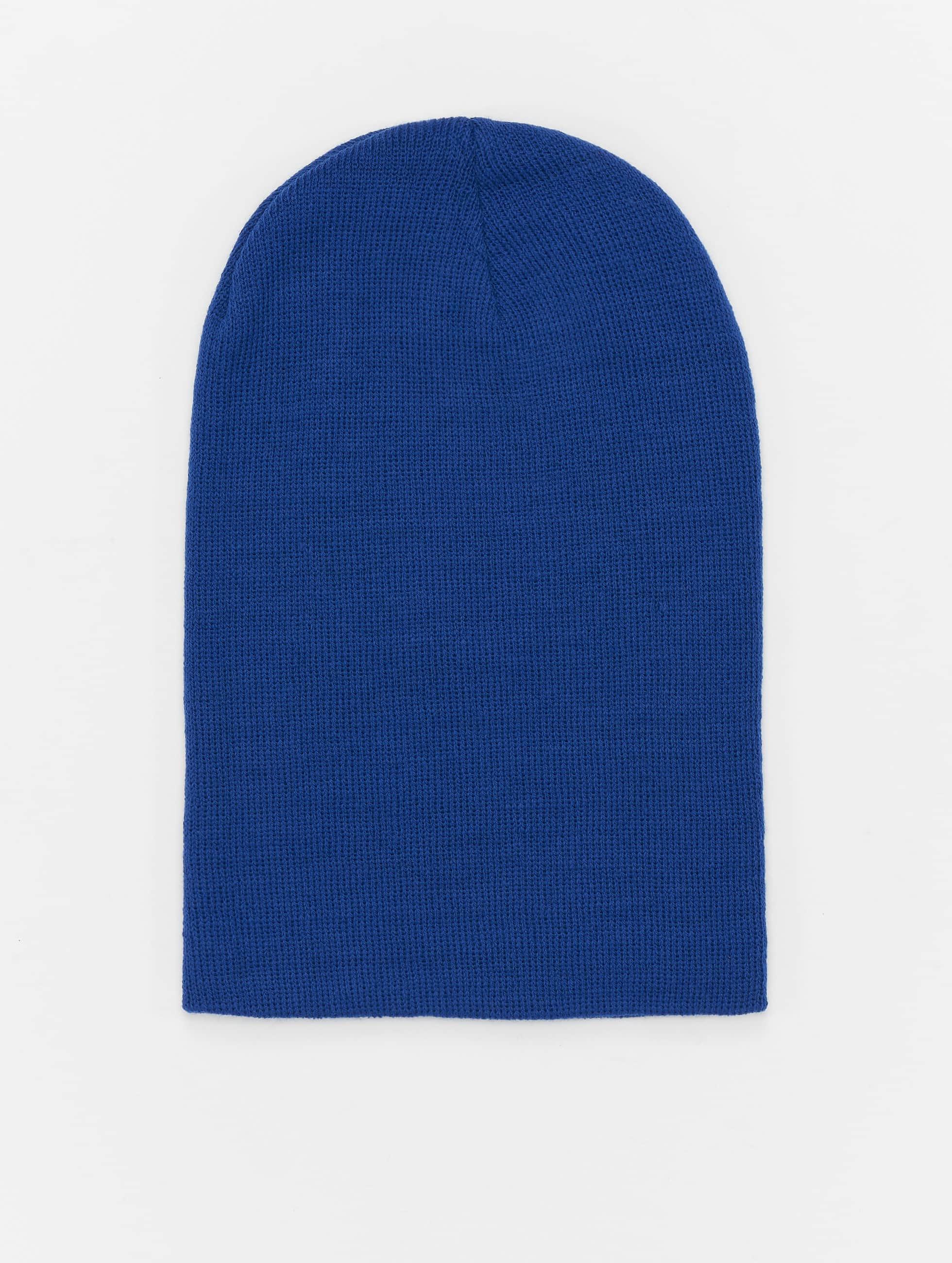 MSTRDS шляпа Basic Flap Long синий