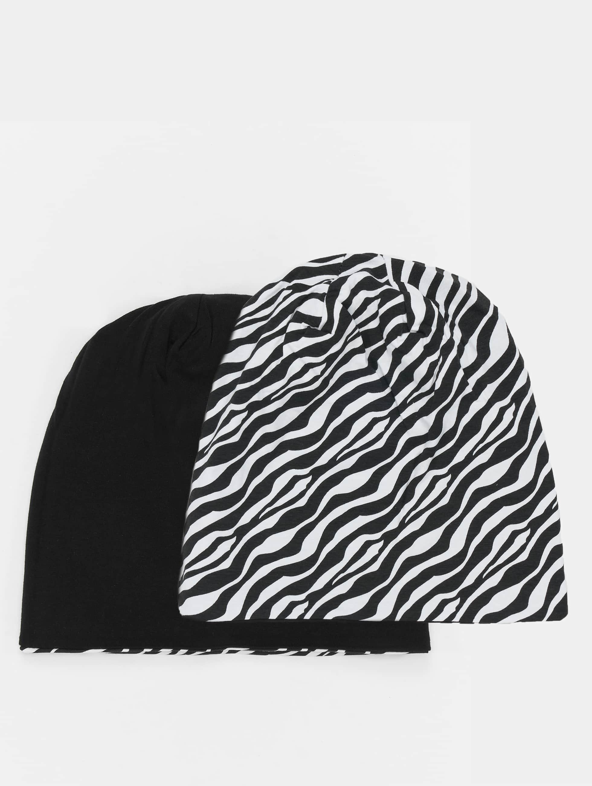 MSTRDS шляпа Printed Jersey черный