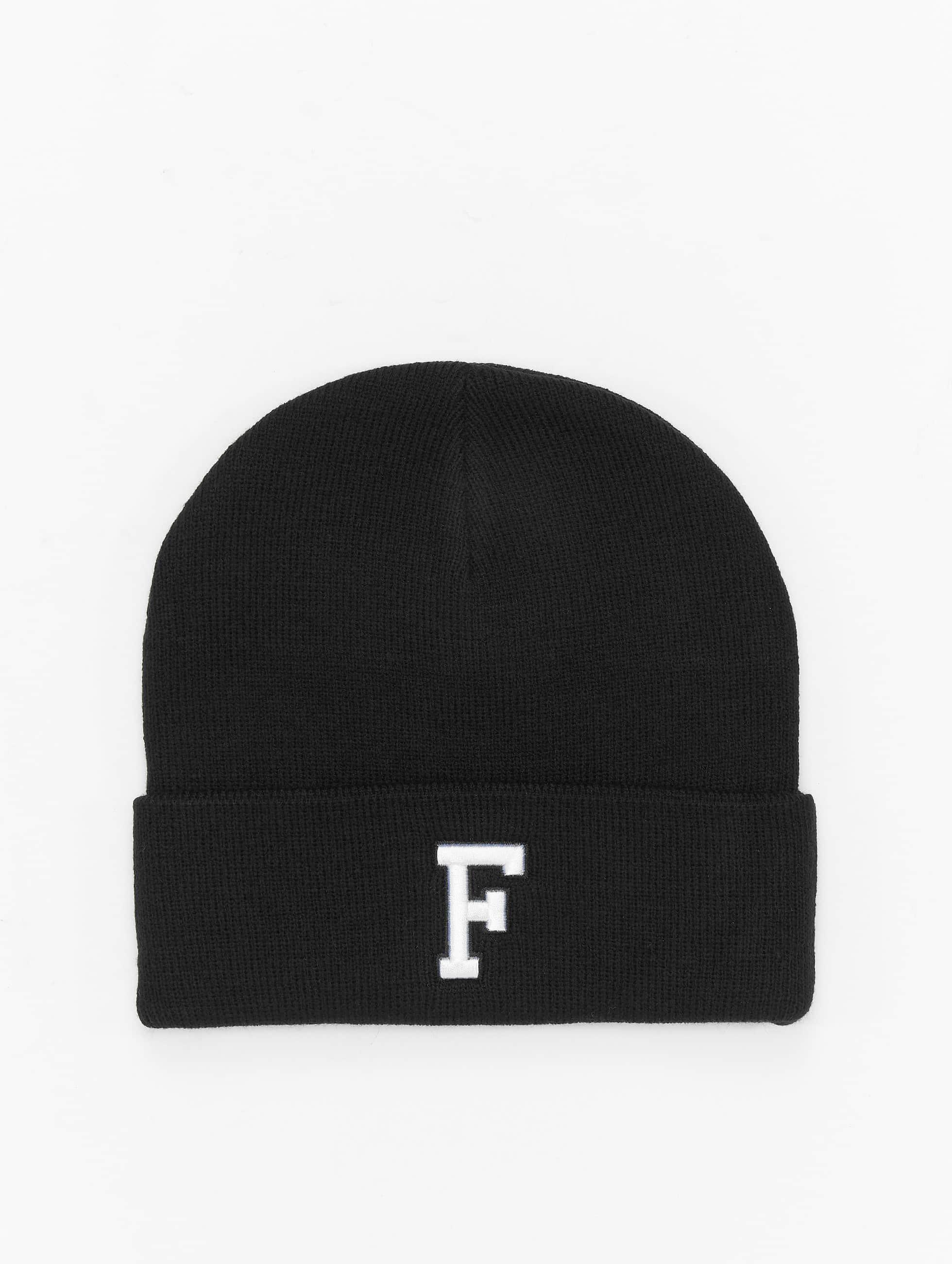 MSTRDS шляпа F Letter черный