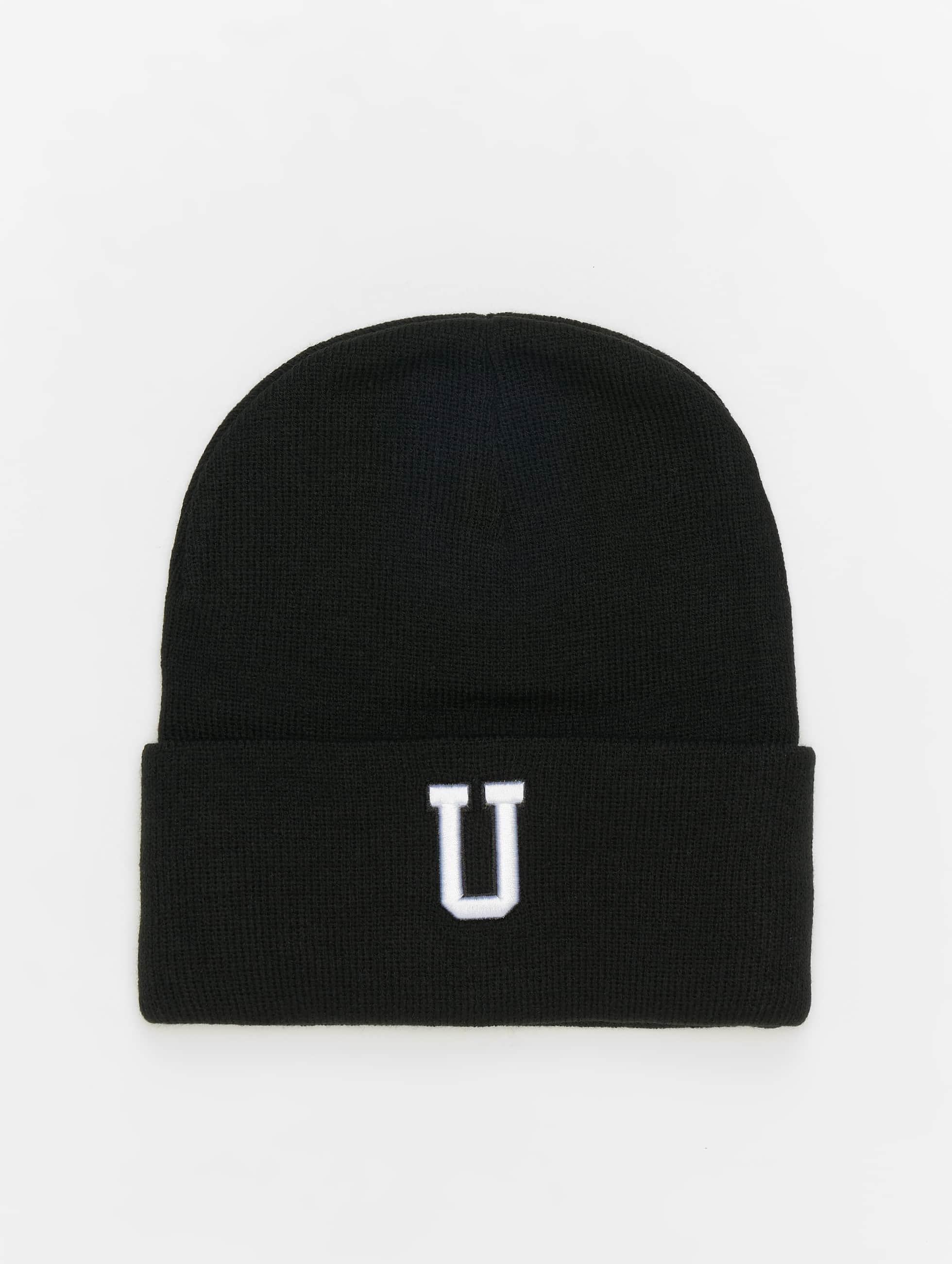 MSTRDS шляпа U Letter черный