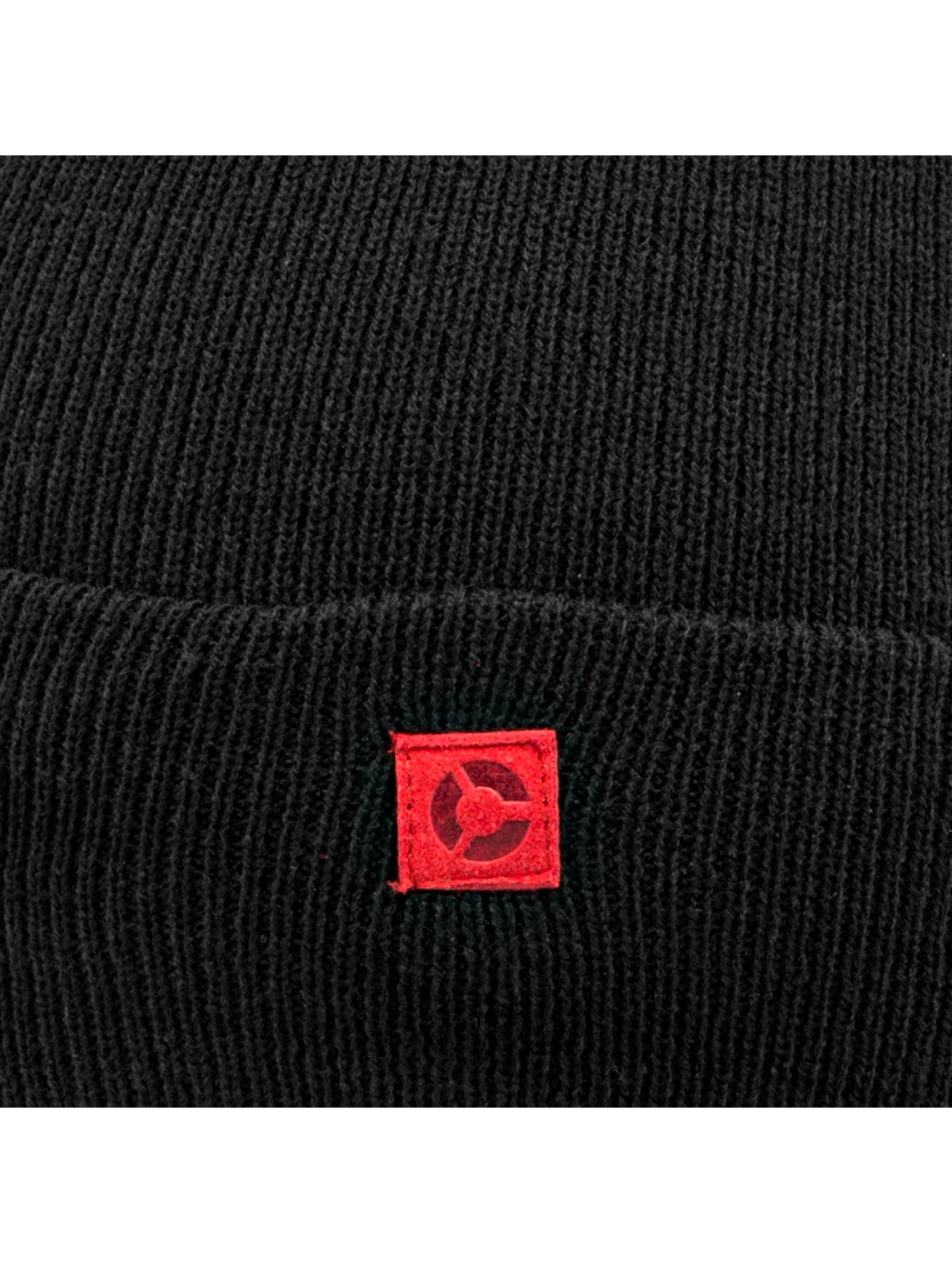 MSTRDS шляпа V Letter черный