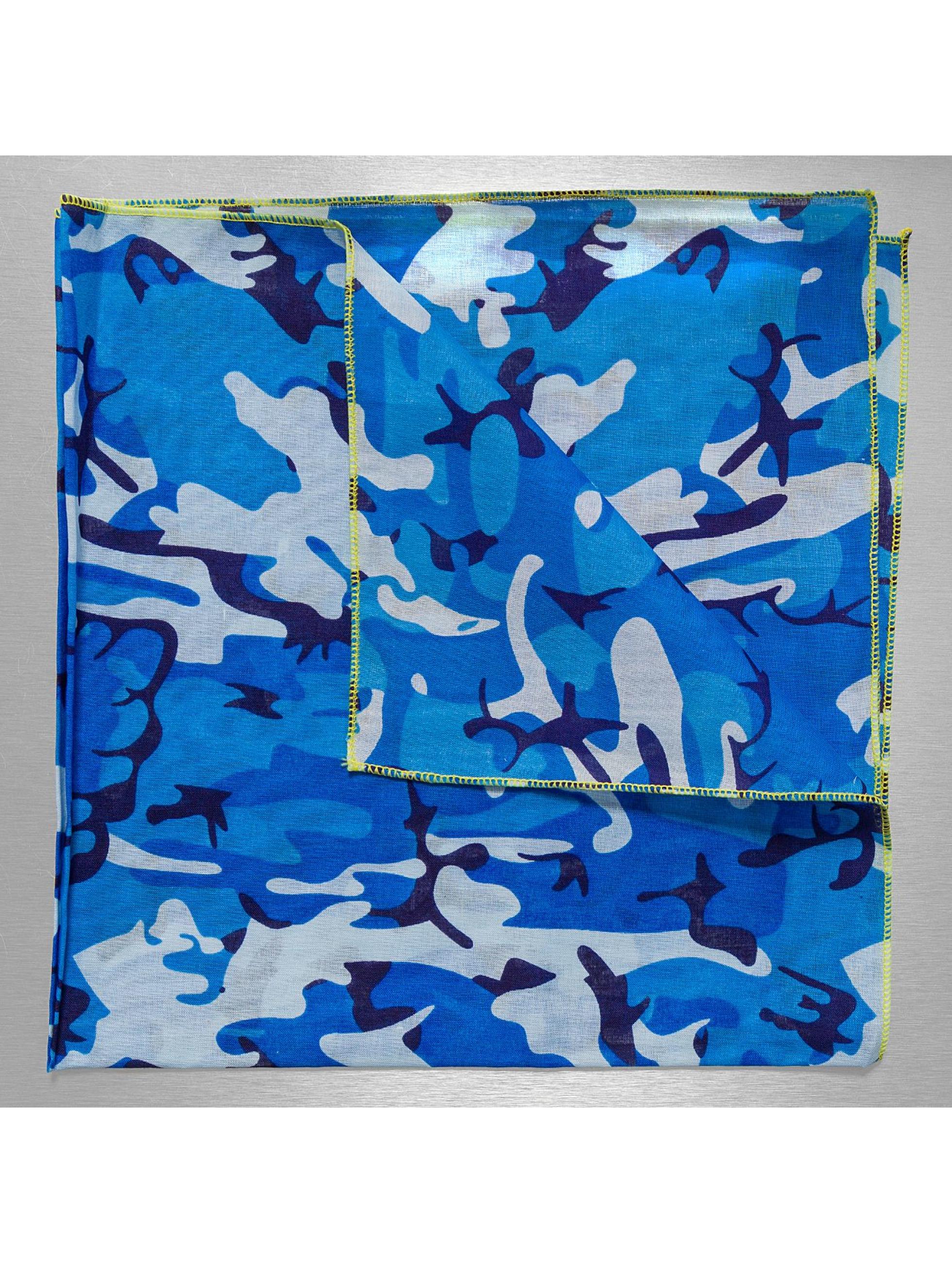 MSTRDS Bandana Special Print bleu