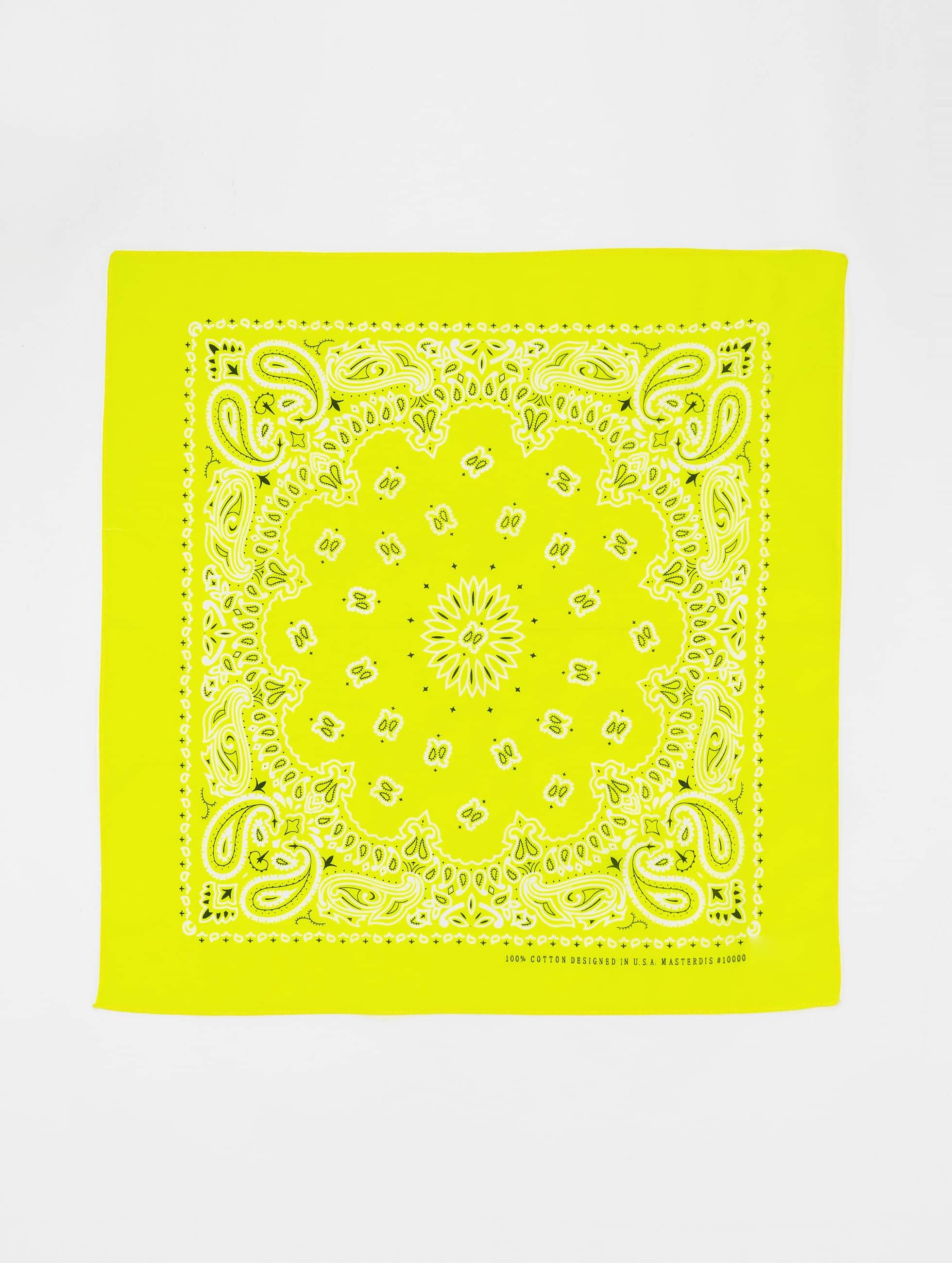 MSTRDS Bandana Printed gelb