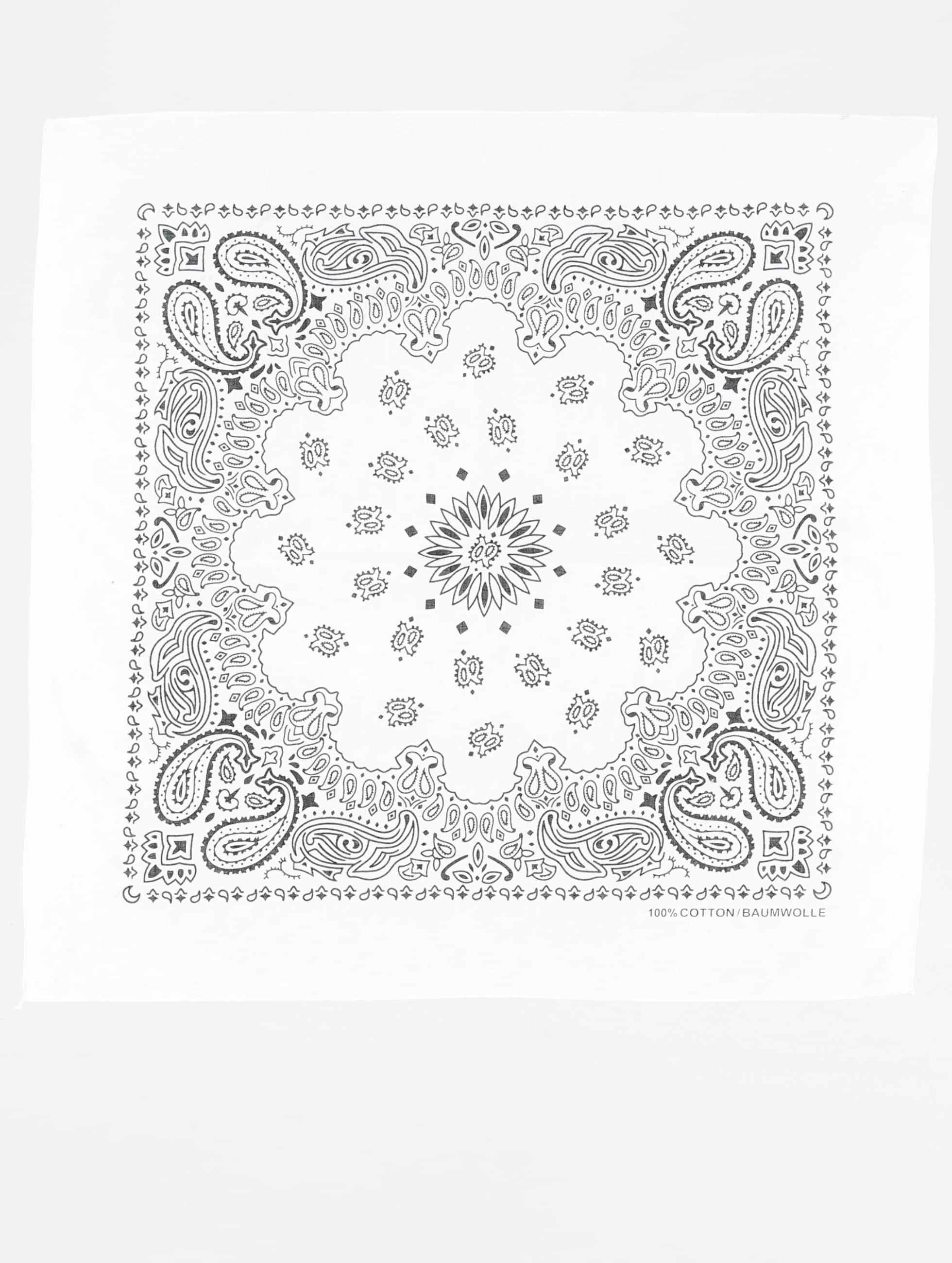 MSTRDS Bandana-huivit Printed valkoinen