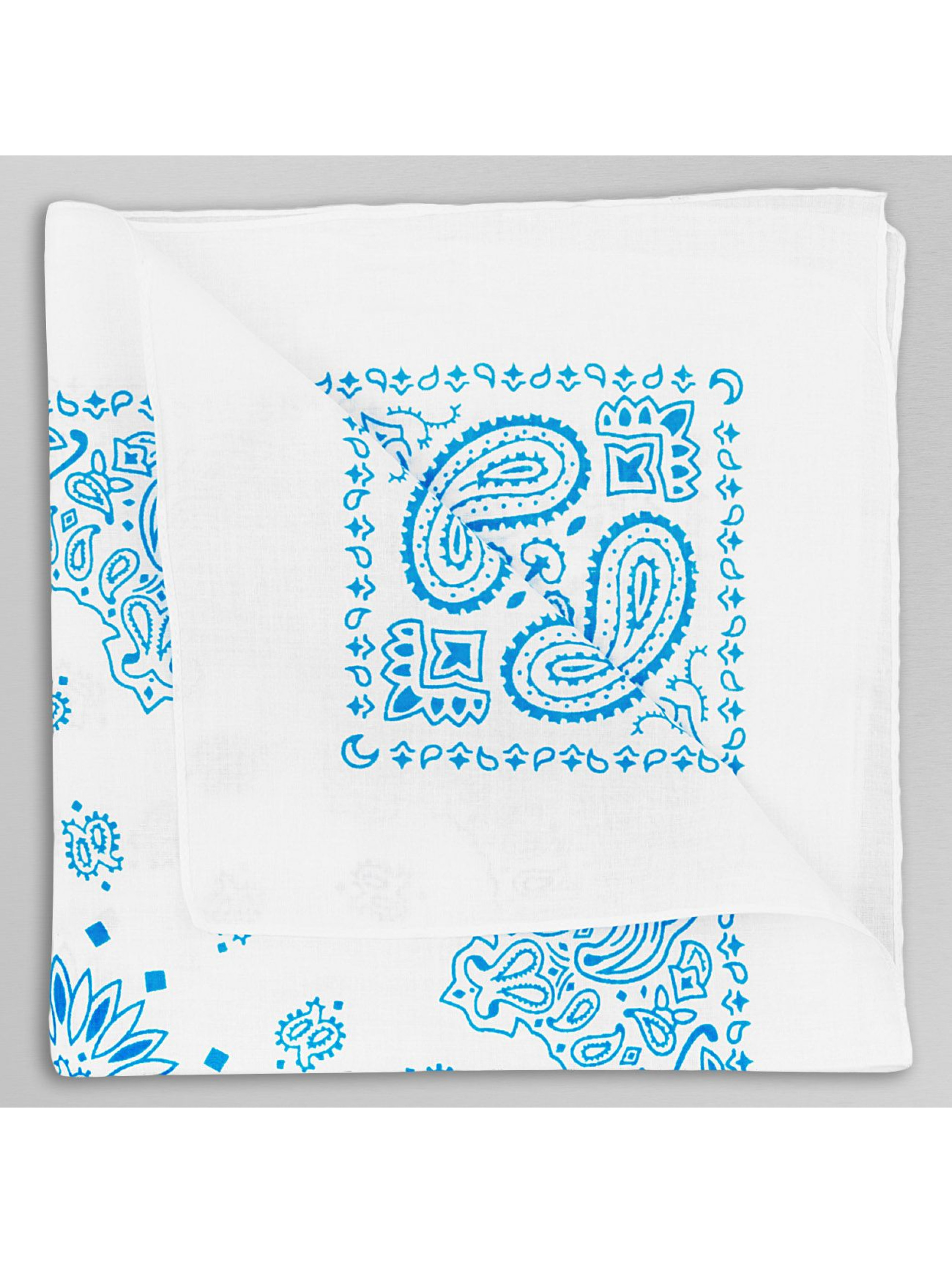 MSTRDS Bandana Printed türkis